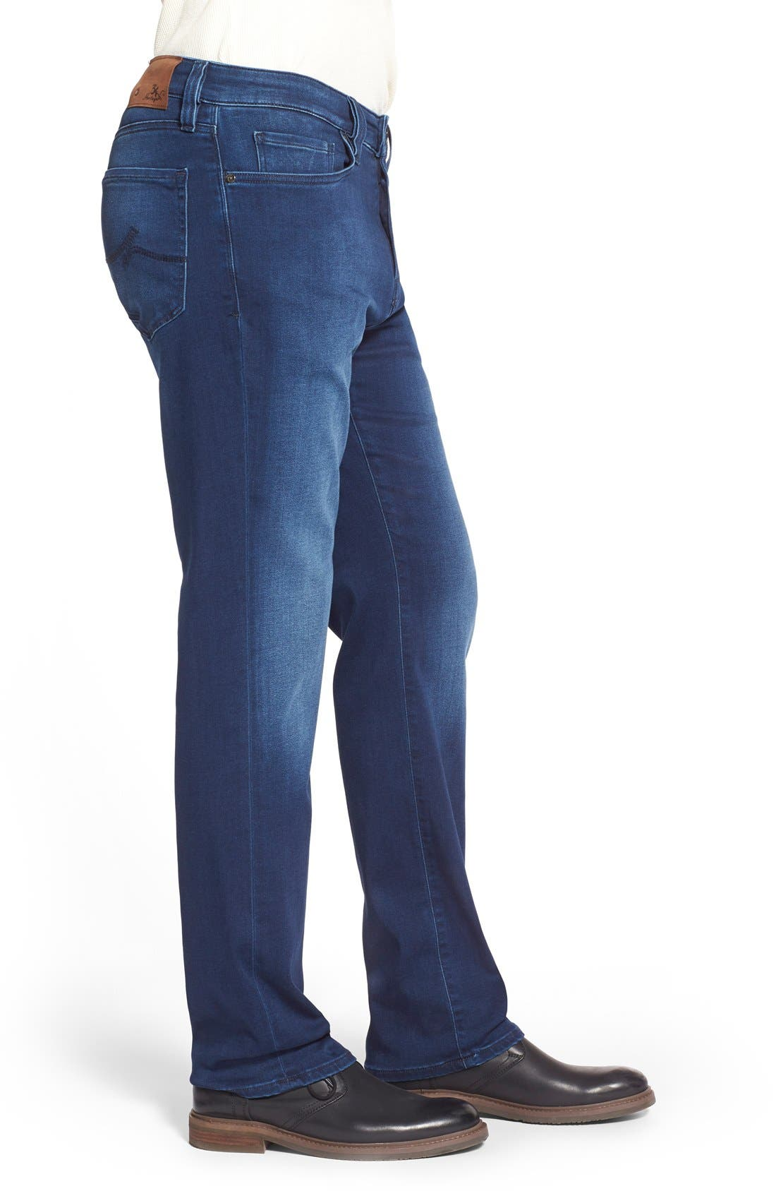 'Charisma' Relaxed Fit Jeans,                             Alternate thumbnail 3, color,                             Select Indigo