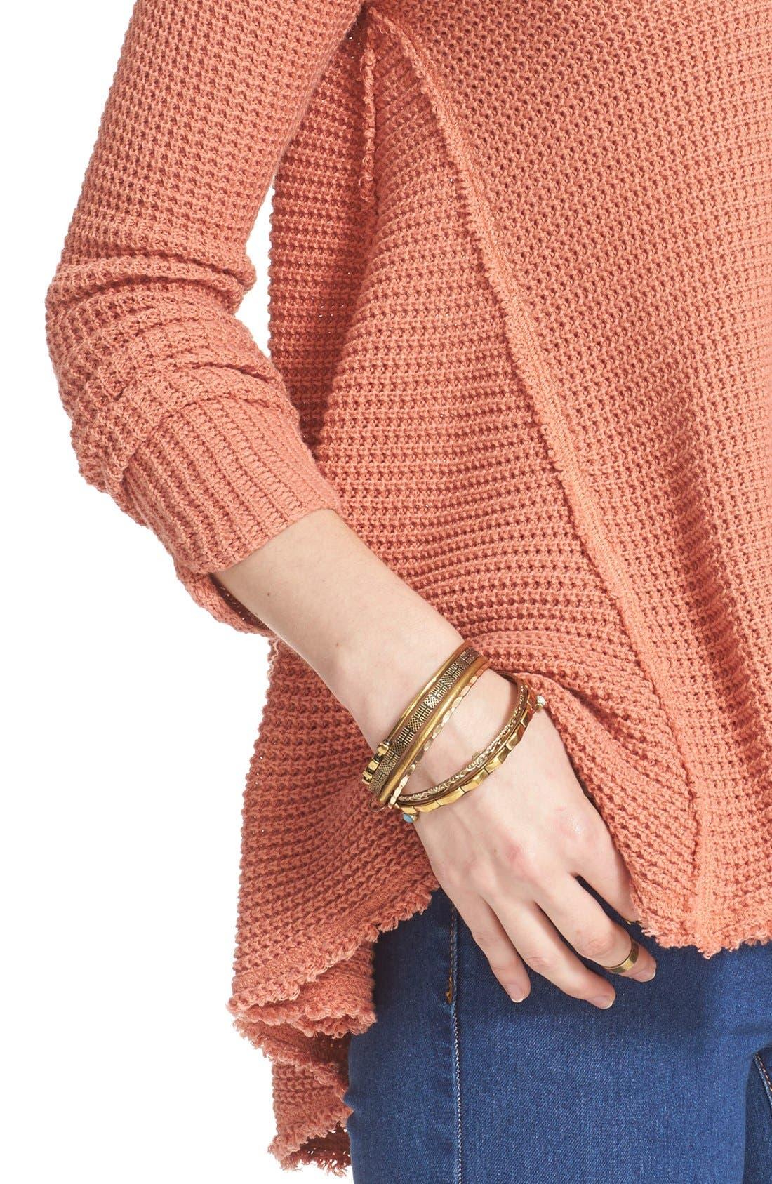 Alternate Image 4  - Free People 'Moonshine V' Cold Shoulder Sweater