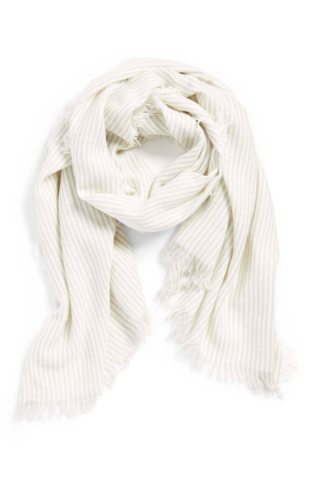 Alternate Image 1 Selected - BP. Thin Stripe Scarf