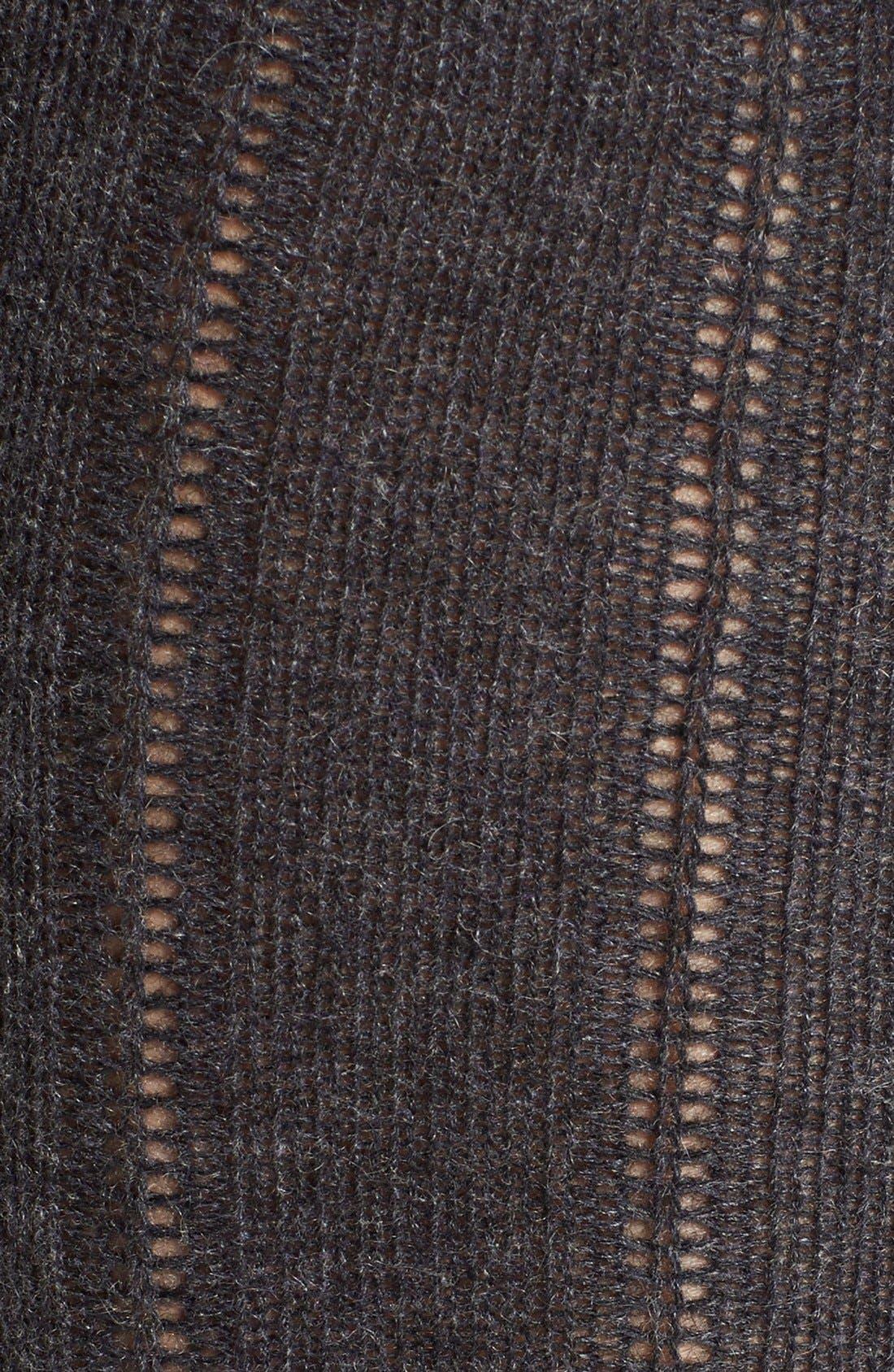 Alternate Image 2  - B.ella Rib Cashmere Blend Knee Socks