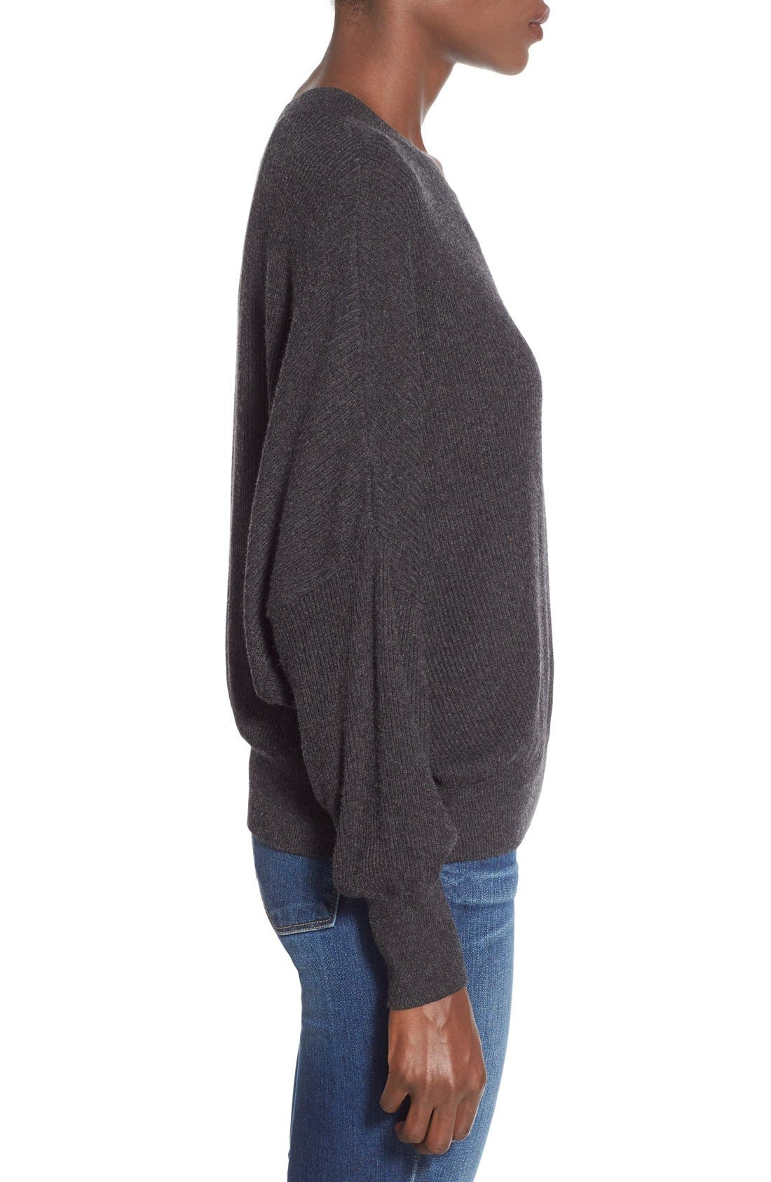 Alternate Image 4  - Leith Relaxed Fit Dolman Sweater