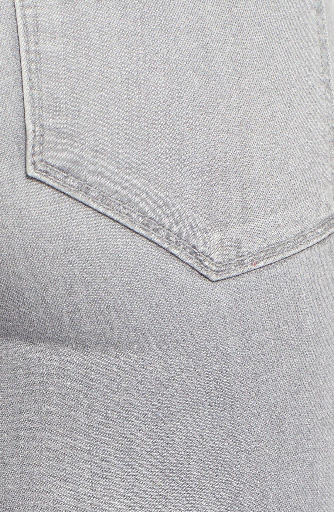 Alternate Image 6  - Paige Denim 'Verdugo' Ankle Skinny Jeans (Dove Grey)