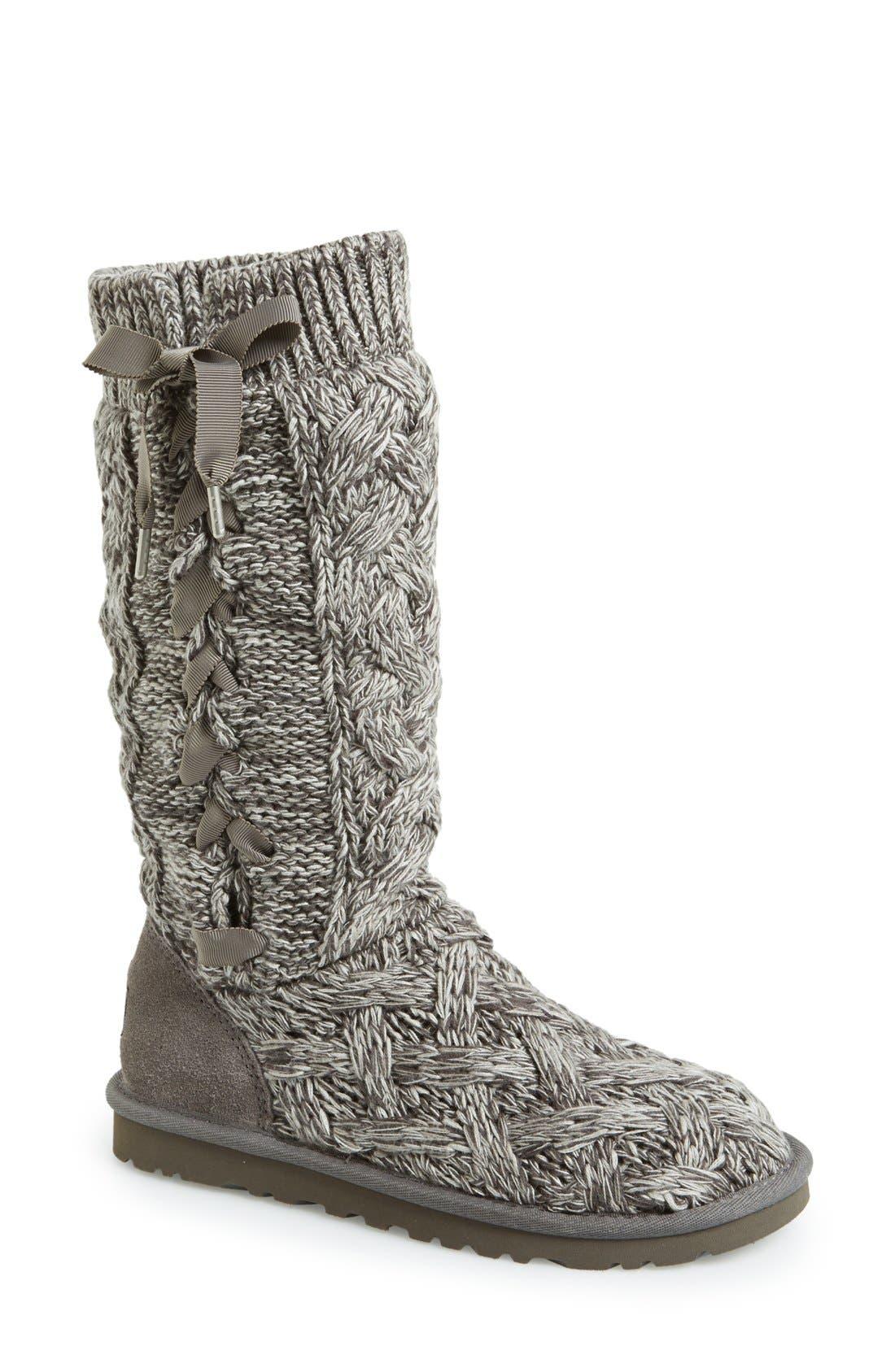 Alternate Image 1 Selected - UGG® Australia 'Mahalya' Knit Boot (Women)