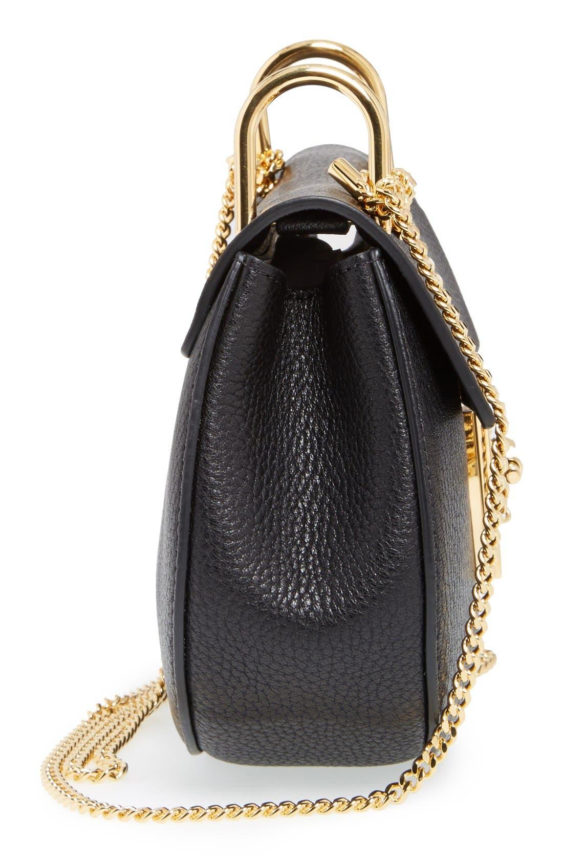 Alternate Image 5  - Chloé 'Mini Drew' Leather Shoulder Bag