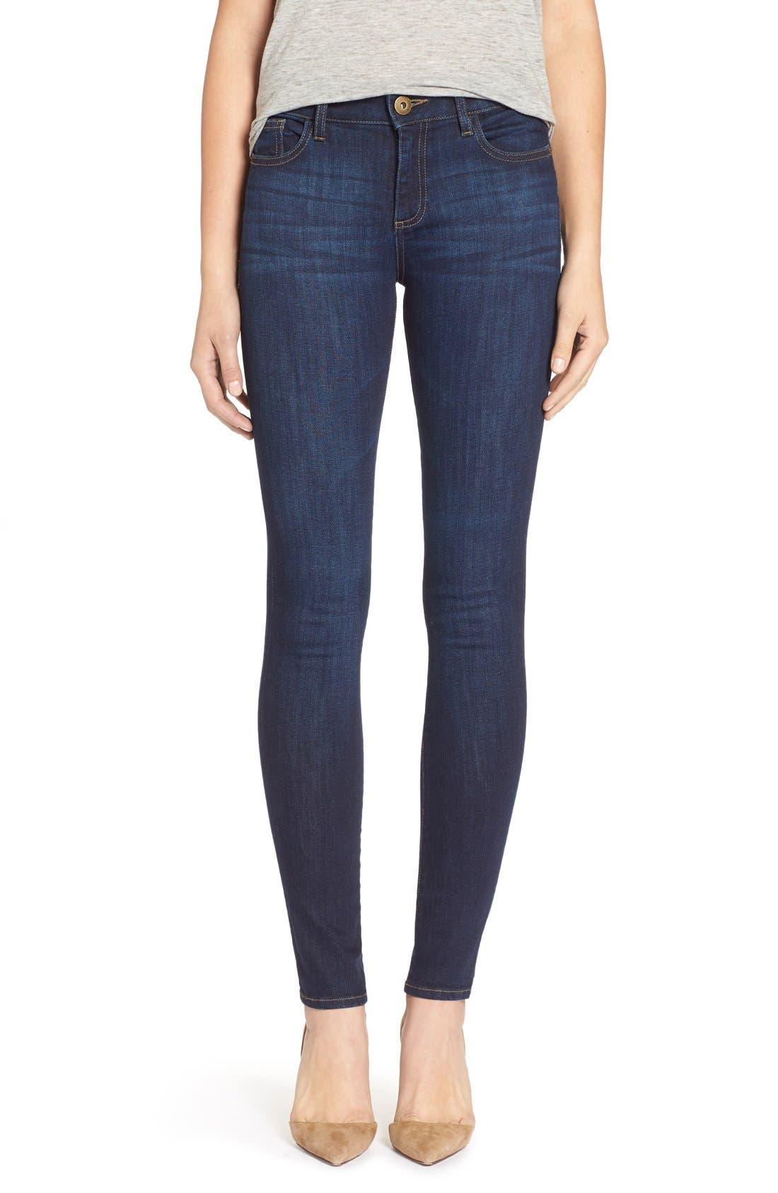 DL1961 'Florence' Instasculpt Skinny Jeans (Pulse)
