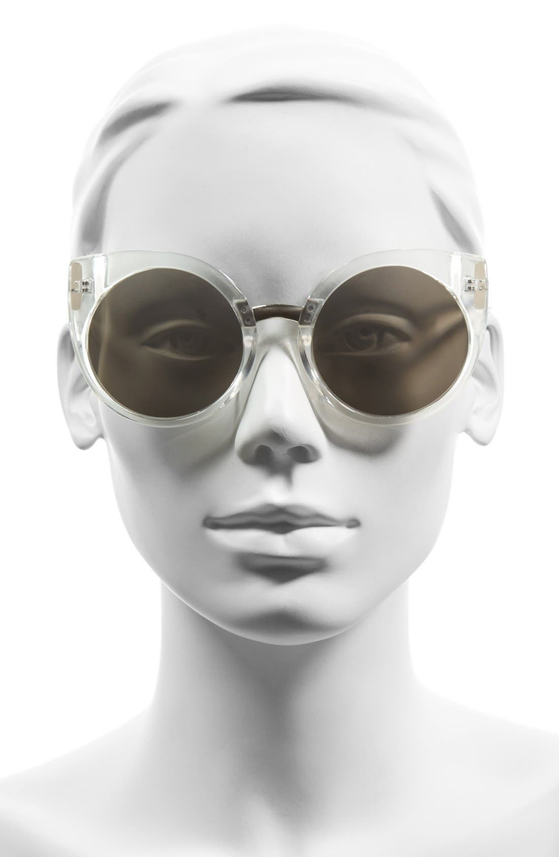 Alternate Image 2  - Quay Australia 'China Doll' 55mm Translucent Cat Eye Sunglasses