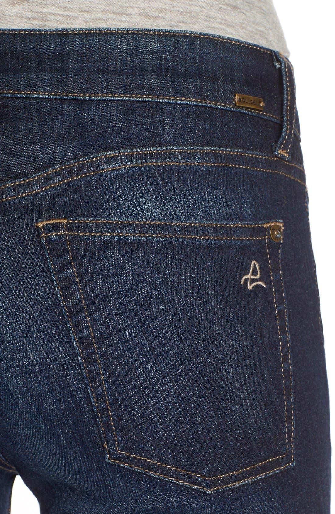 'Danny' Instasculpt Skinny Jeans,                             Alternate thumbnail 4, color,                             Pulse