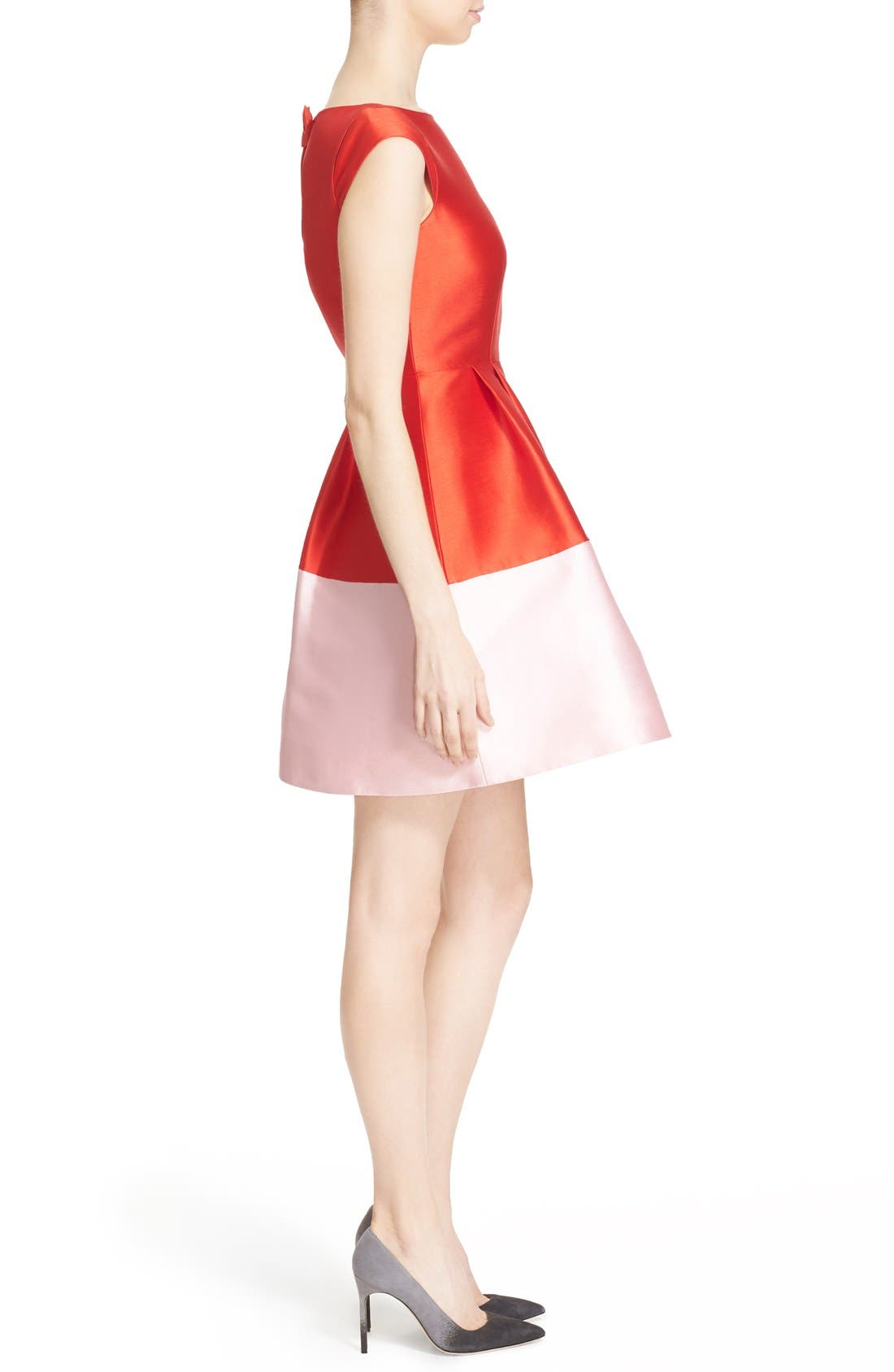 Alternate Image 3  - kate spade new york colorblock fit & flare dress