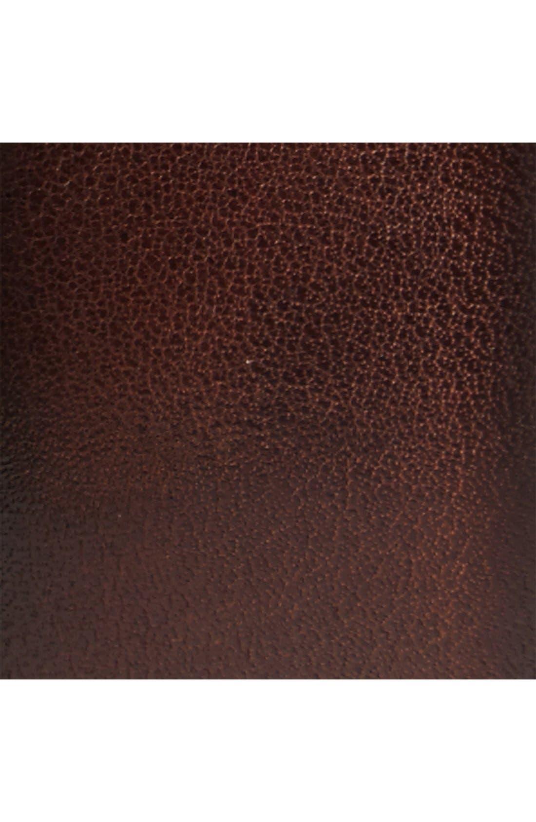 Leather Belt,                             Alternate thumbnail 2, color,                             Brown