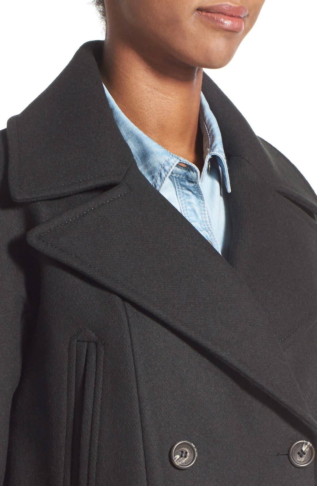Alternate Image 4  - Vince Camuto Double Breasted Peacoat