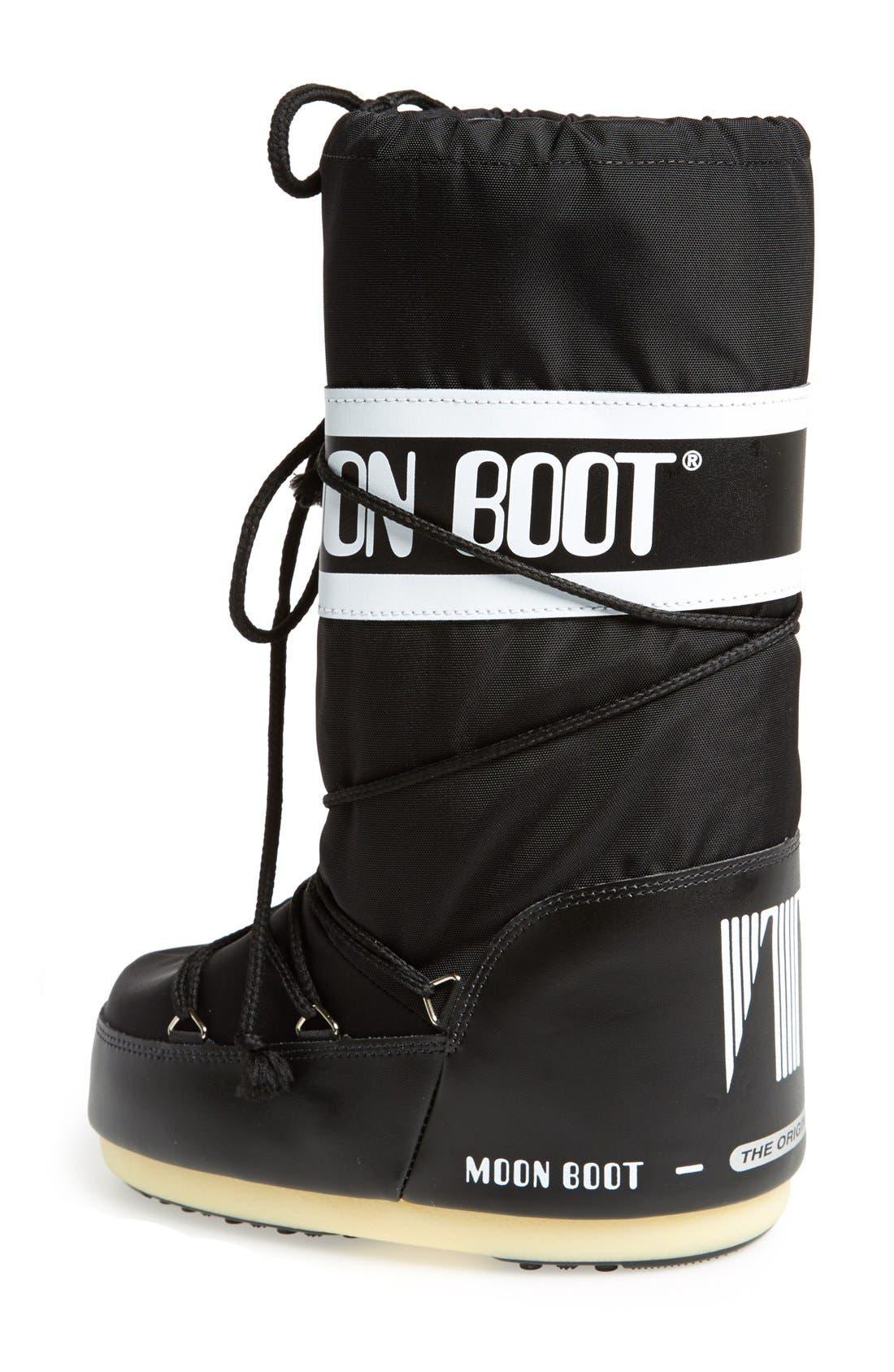 'Original' Moon Boot<sup>®</sup>,                             Alternate thumbnail 2, color,                             Black