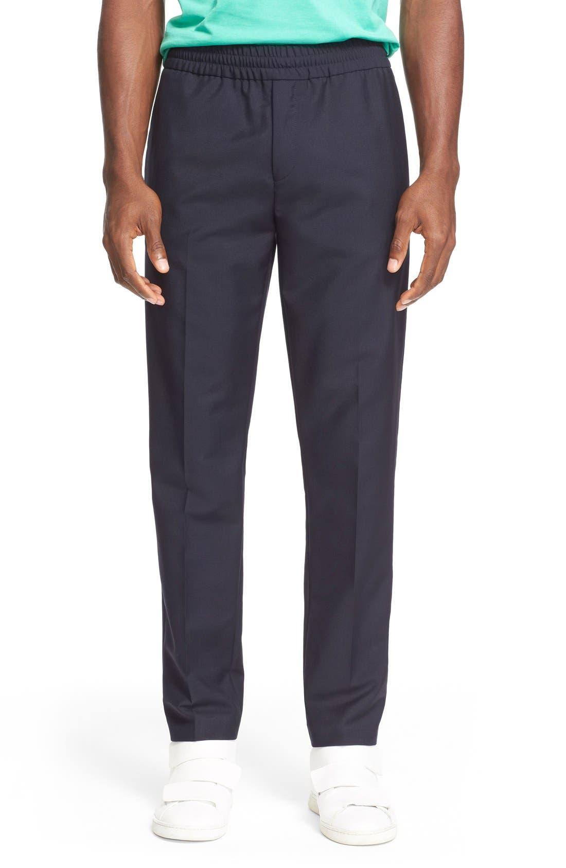 Ryder Wool Pants,                         Main,                         color, Navy