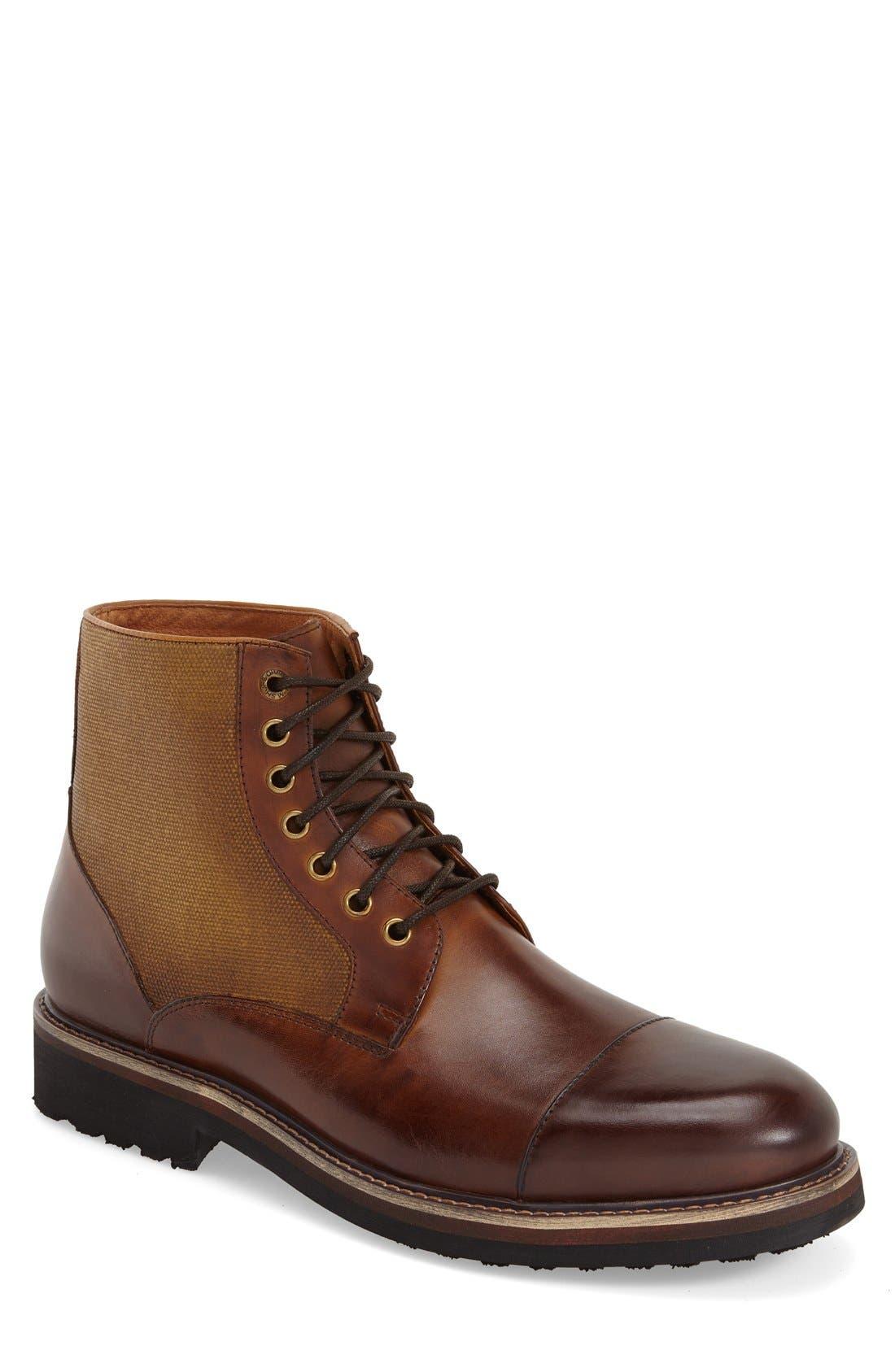 Alternate Image 1 Selected - Zanzara 'Northstar' Cap Toe Boot (Men)