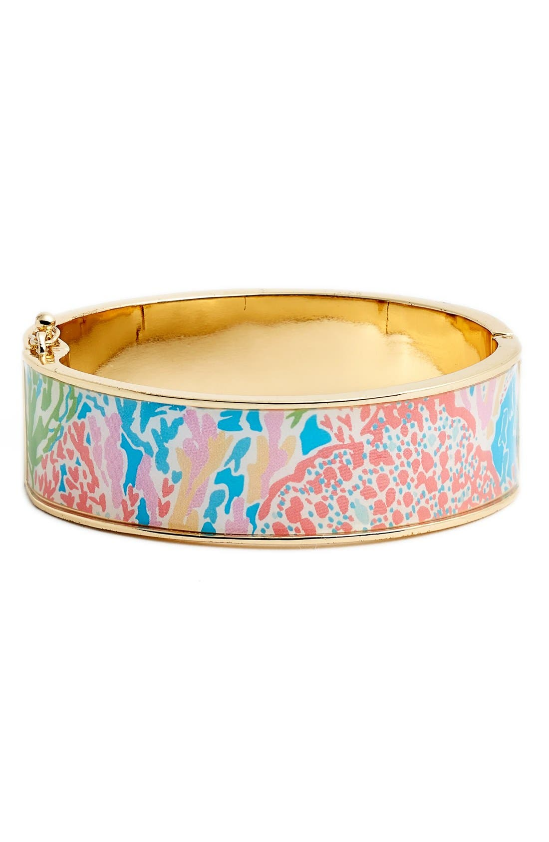 Main Image - Lilly Pulitzer® 'Boca' Print Bangle