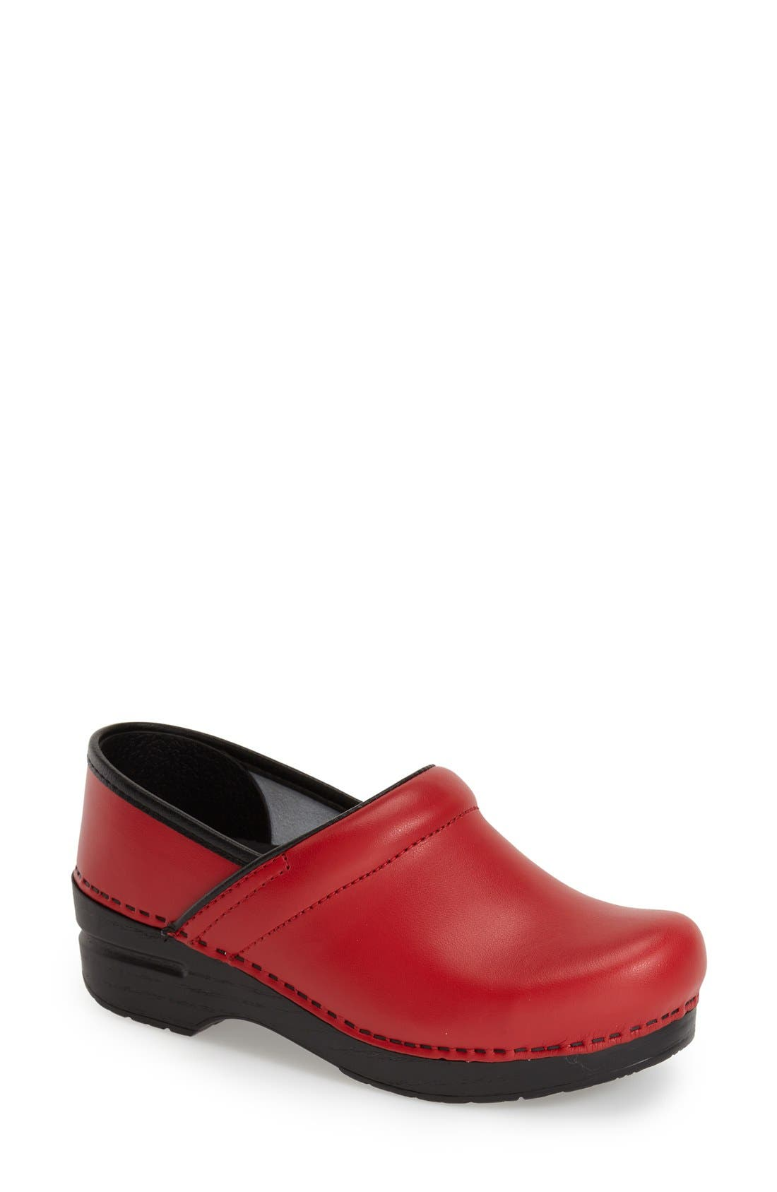 'Pro' Clog,                         Main,                         color, Red Box