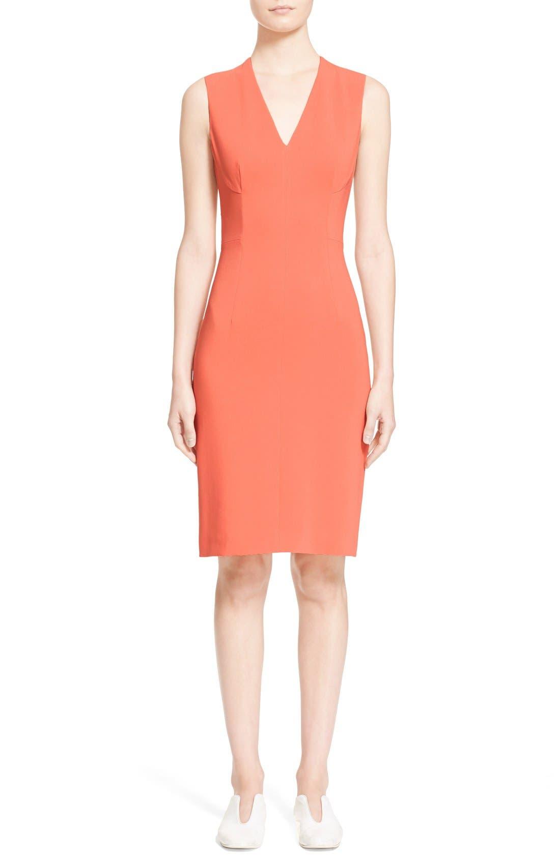 Alternate Image 1 Selected - Stella McCartney 'Simona' Sleeveless V-Neck Dress