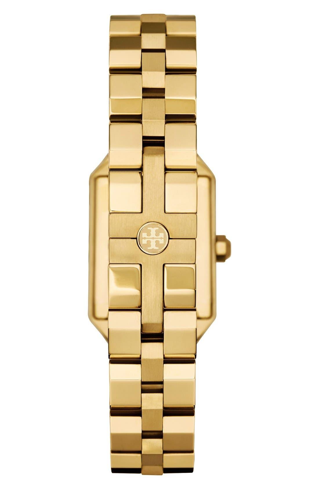 Alternate Image 2  - Tory Burch 'Dalloway' Bracelet Watch, 23mm x 35mm