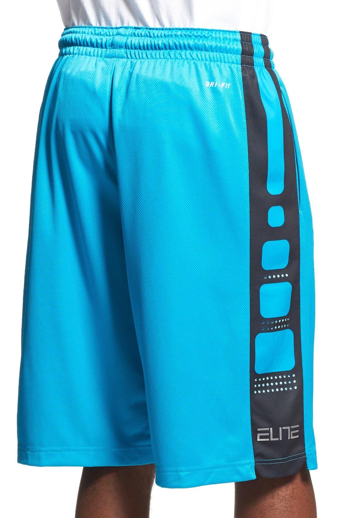 Alternate Image 2  - Nike 'Elite' Knit Basketball Shorts