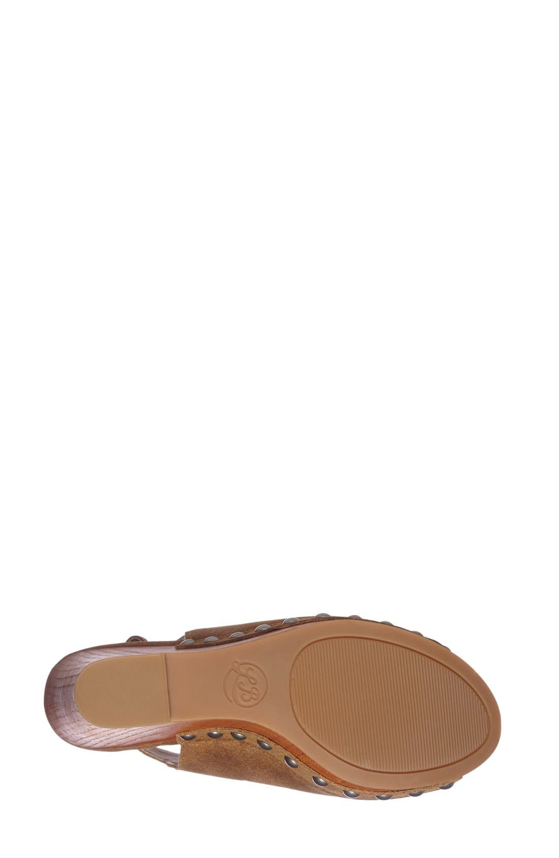 Alternate Image 4  - Lucky Brand 'Larae' Wedge Sandal (Women)