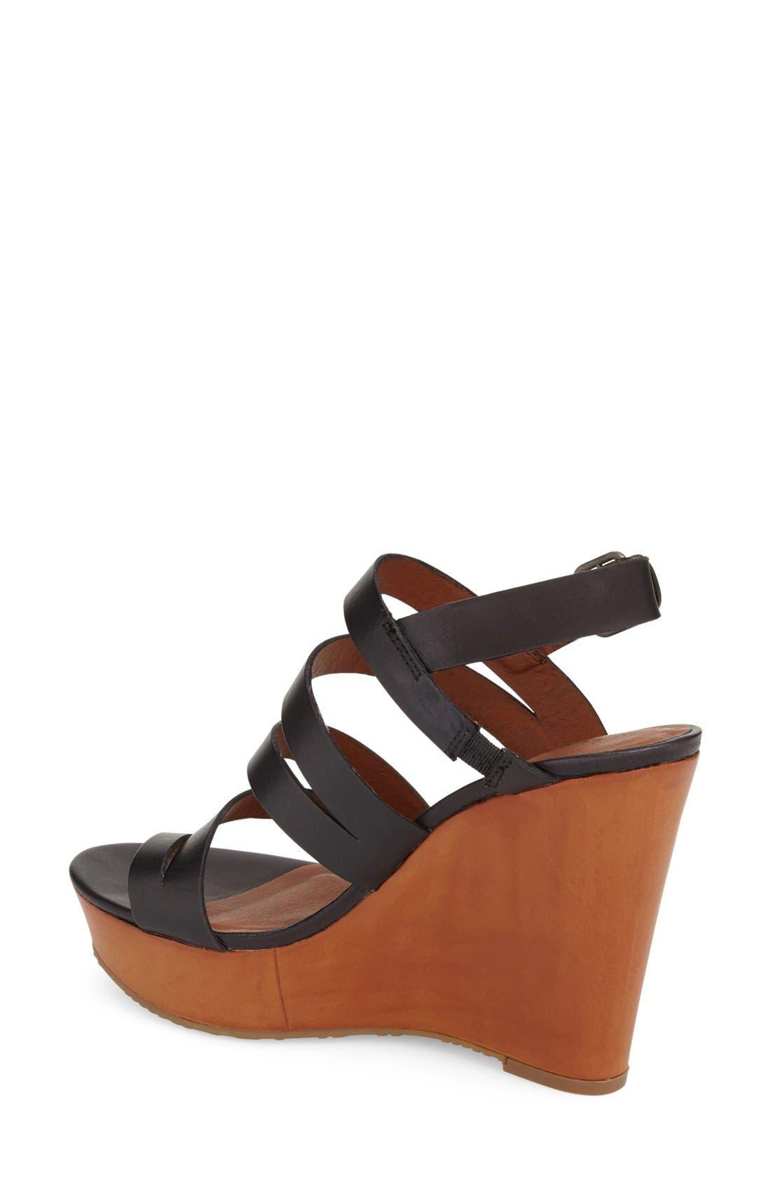 Alternate Image 2  - Lucky Brand 'Fairfina' Wedge Sandal (Women)