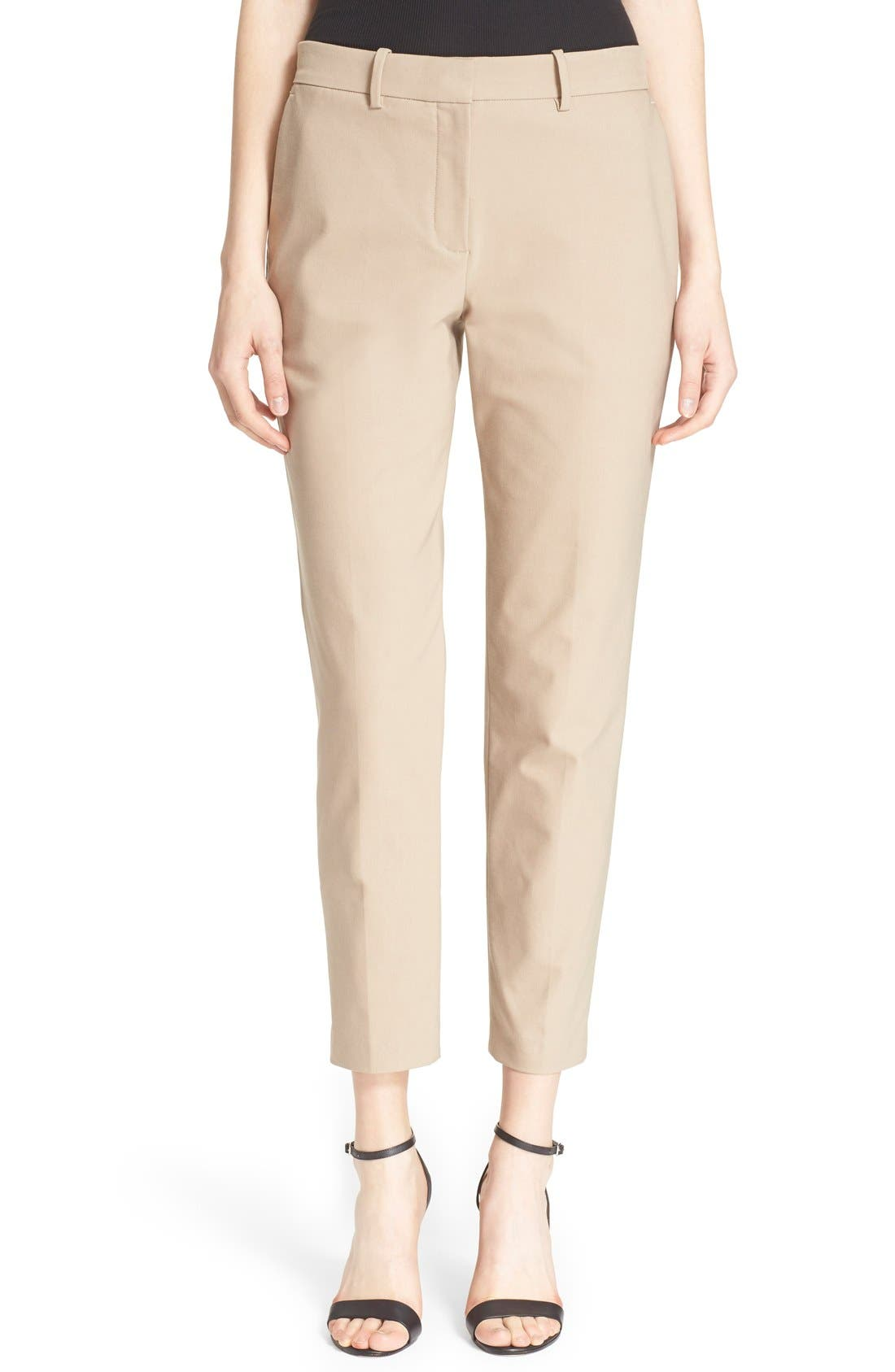 Alternate Image 1 Selected - Theory 'Treeca' Stretch Twill Pants