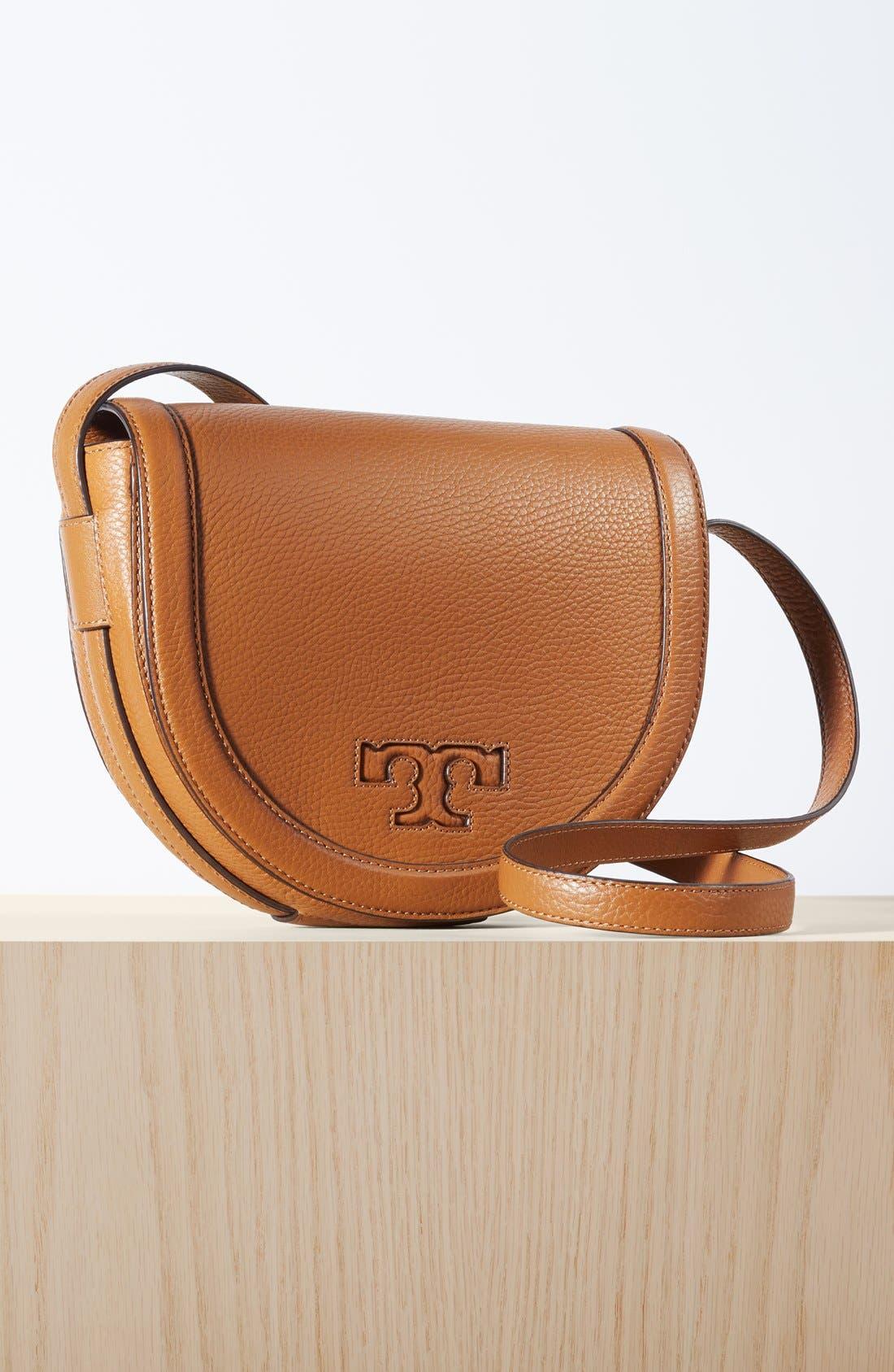 Alternate Image 2  - Tory Burch 'Serif T' Leather Saddle Bag