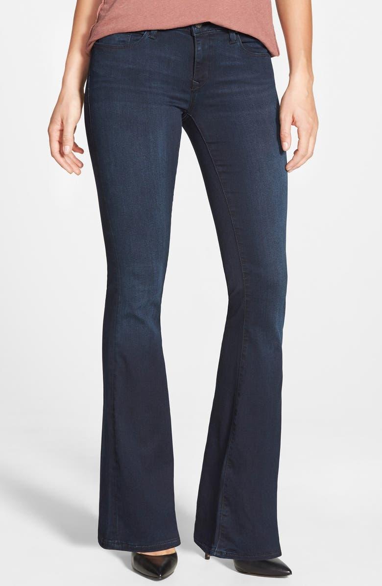 'Peace' Stretch Flare Leg Jeans