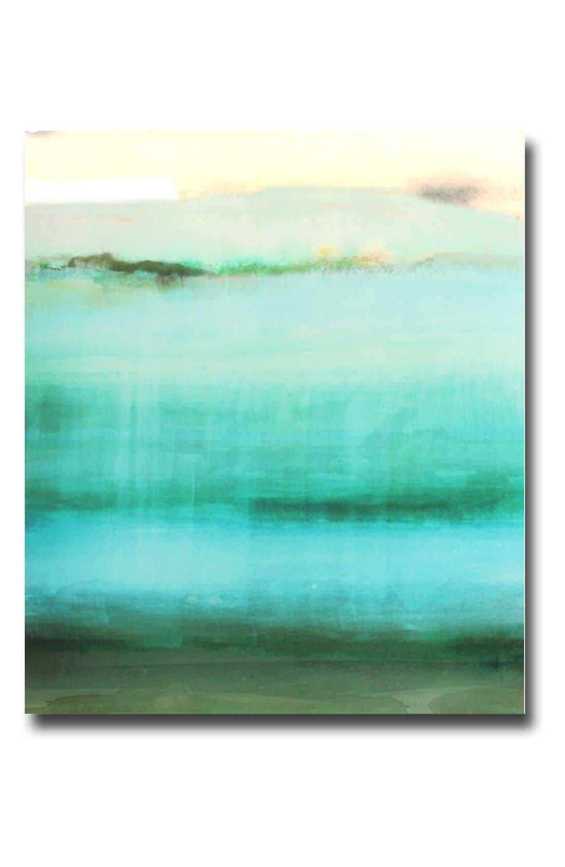 Main Image - Crystal Art Gallery 'Shades of Green' Canvas