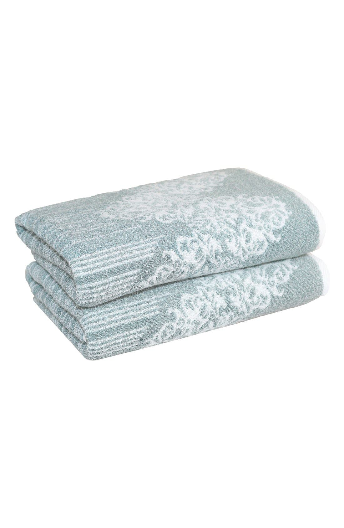 Linum 'Gioia' Turkish Cotton Bath Towels (Set of 2)