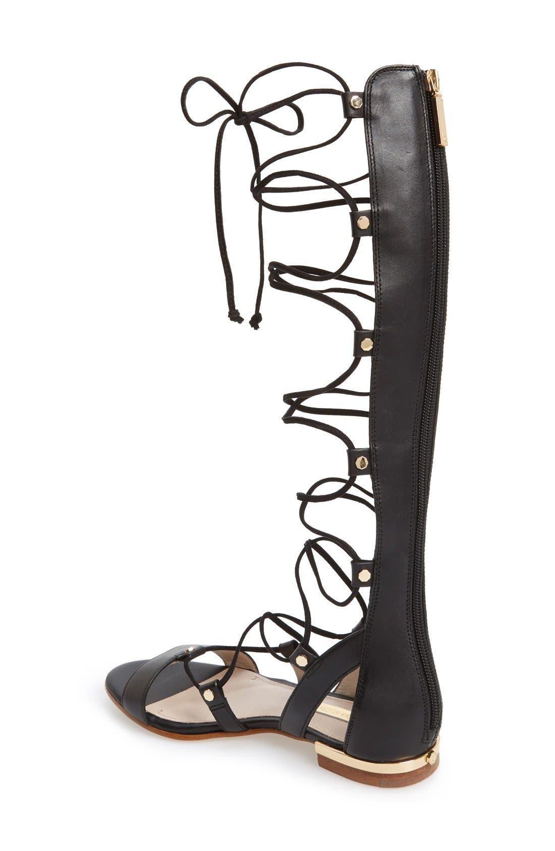 Alternate Image 2  - Louise et Cie 'Kaelyn' Tall Gladiator Sandal (Women)