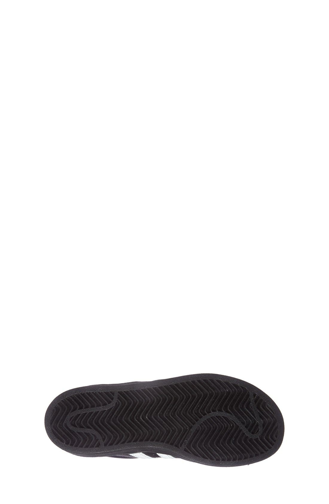 Alternate Image 2  - adidas 'Superstar' Sneaker (Baby, Walker, Toddler, Little Kid & Big Kid)