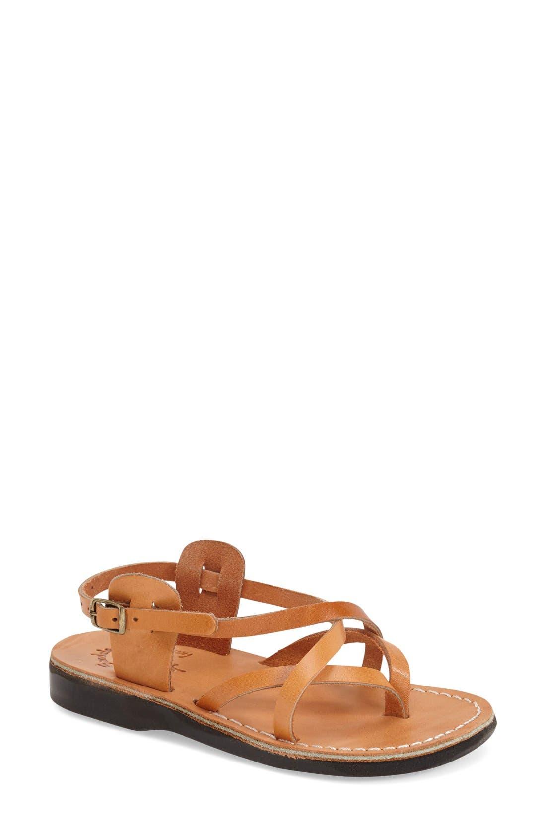 Alternate Image 1 Selected - Jerusalem Sandals 'Tamar' Strappy Sandal (Women)