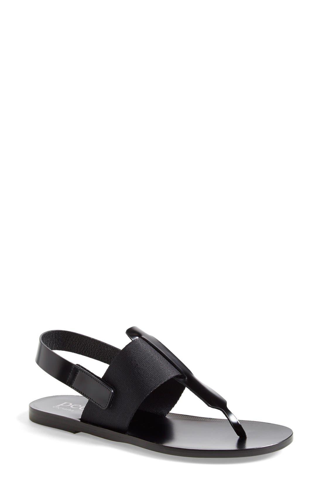 Alternate Image 1 Selected - Pedro Garcia 'Zula' Flat Slingback Sandal (Women)