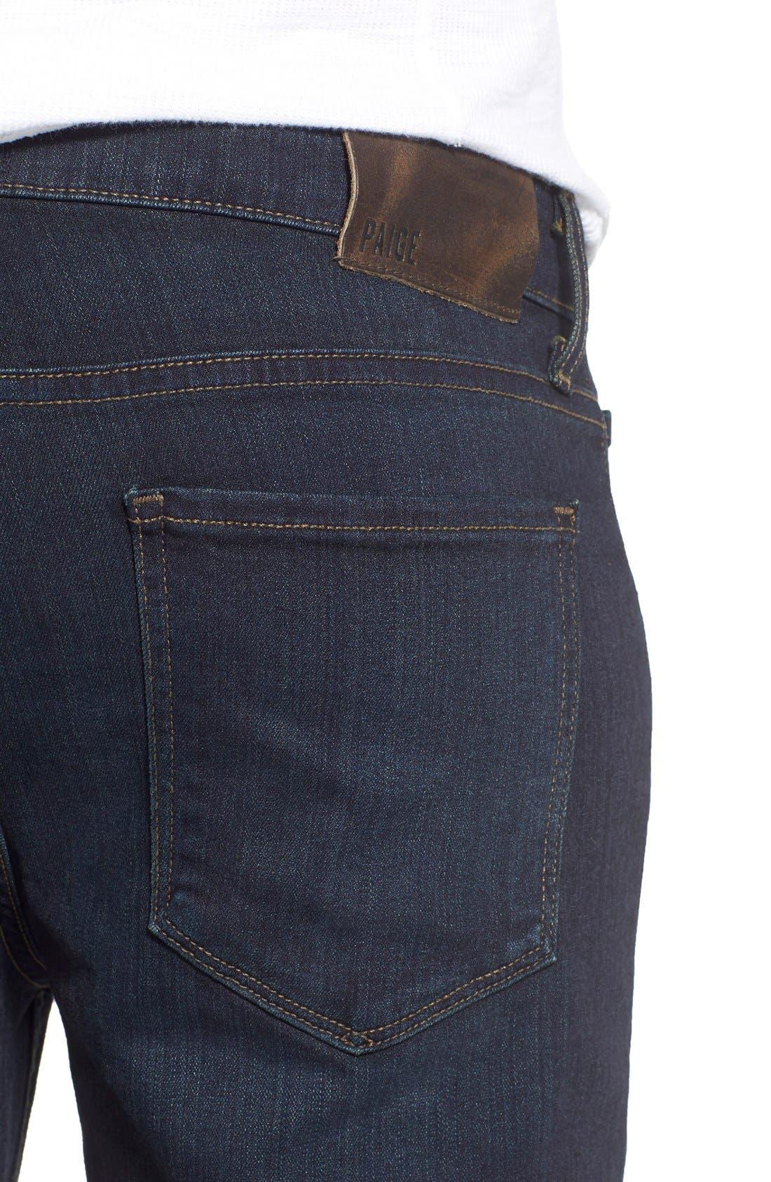 Lennox Slim Fit Jeans,                             Alternate thumbnail 4, color,                             Cellar