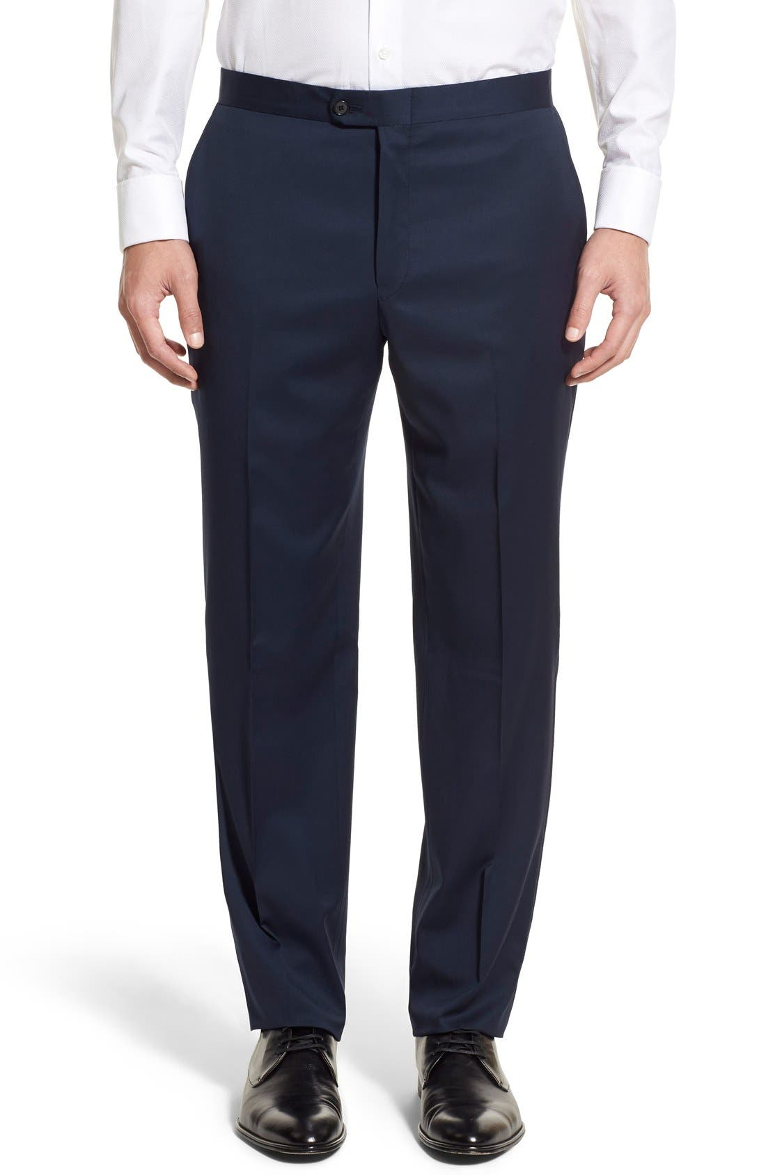 Alternate Image 7  - Hickey Freeman Classic B Fit Wool Tuxedo