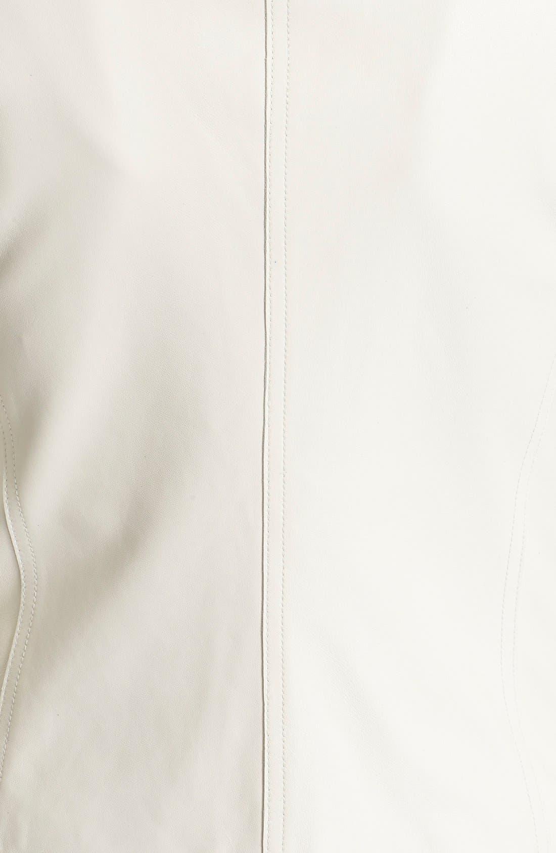 Alternate Image 5  - Vince Tailored Leather Jacket