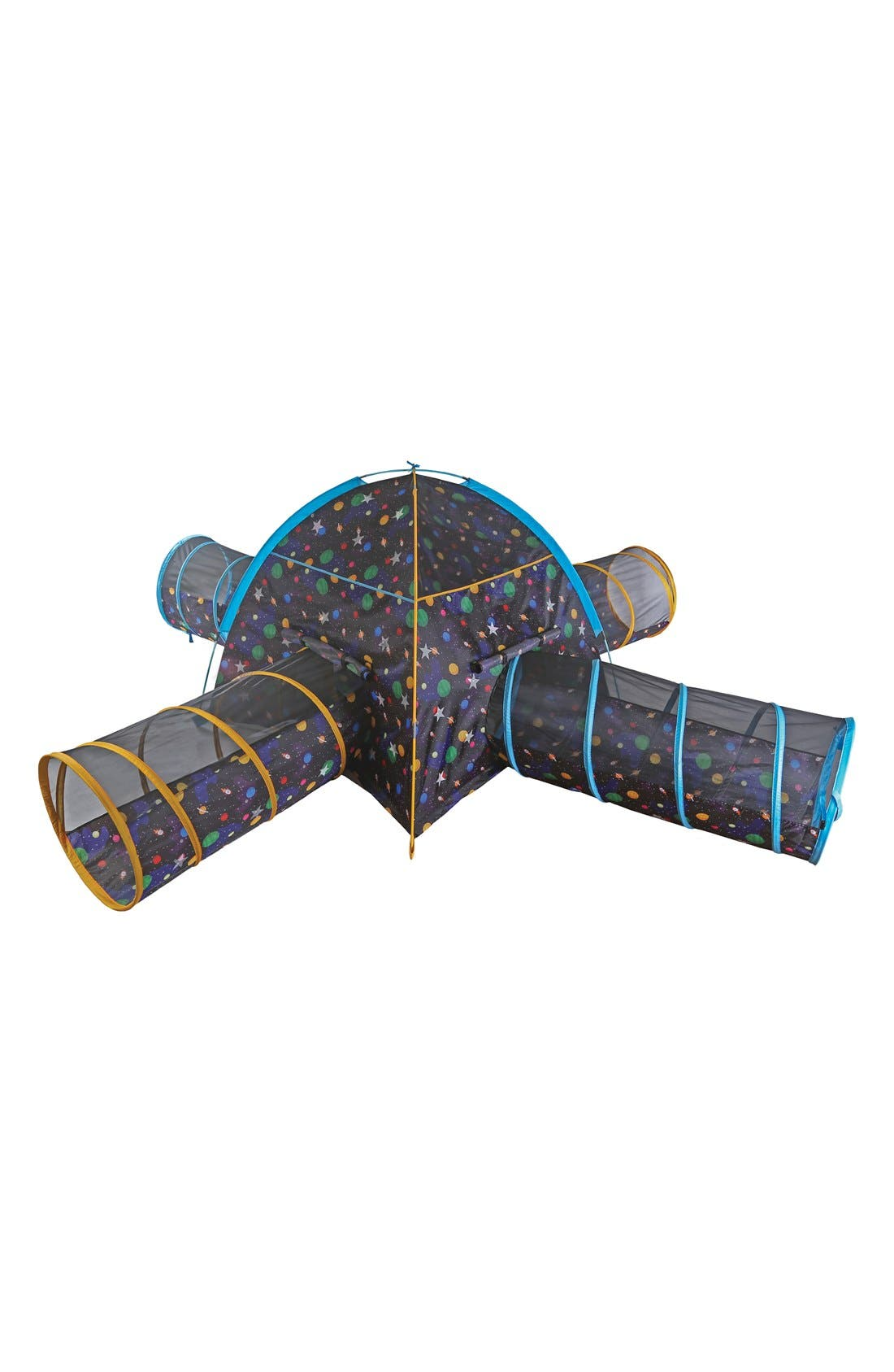 'Galaxy Junction' Dome Tent with Connecting Tunnels,                             Main thumbnail 1, color,                             Multi