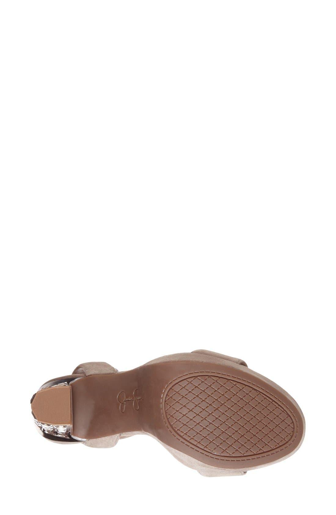 Alternate Image 4  - Jessica Simpson 'Banda' Embellished Platform Sandal (Women)