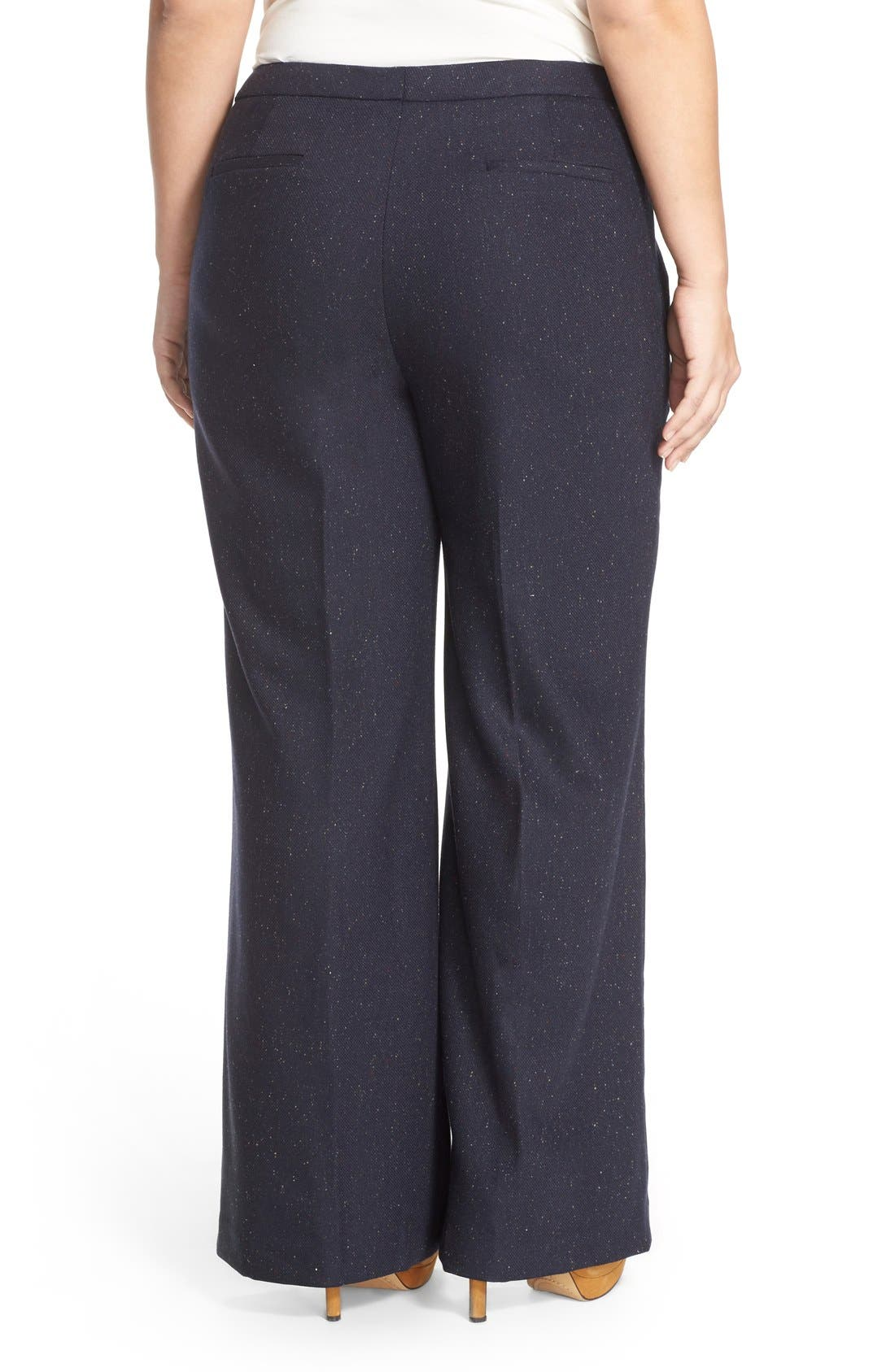 Alternate Image 2  - Halogen® Wide Leg Pants (Plus Size)