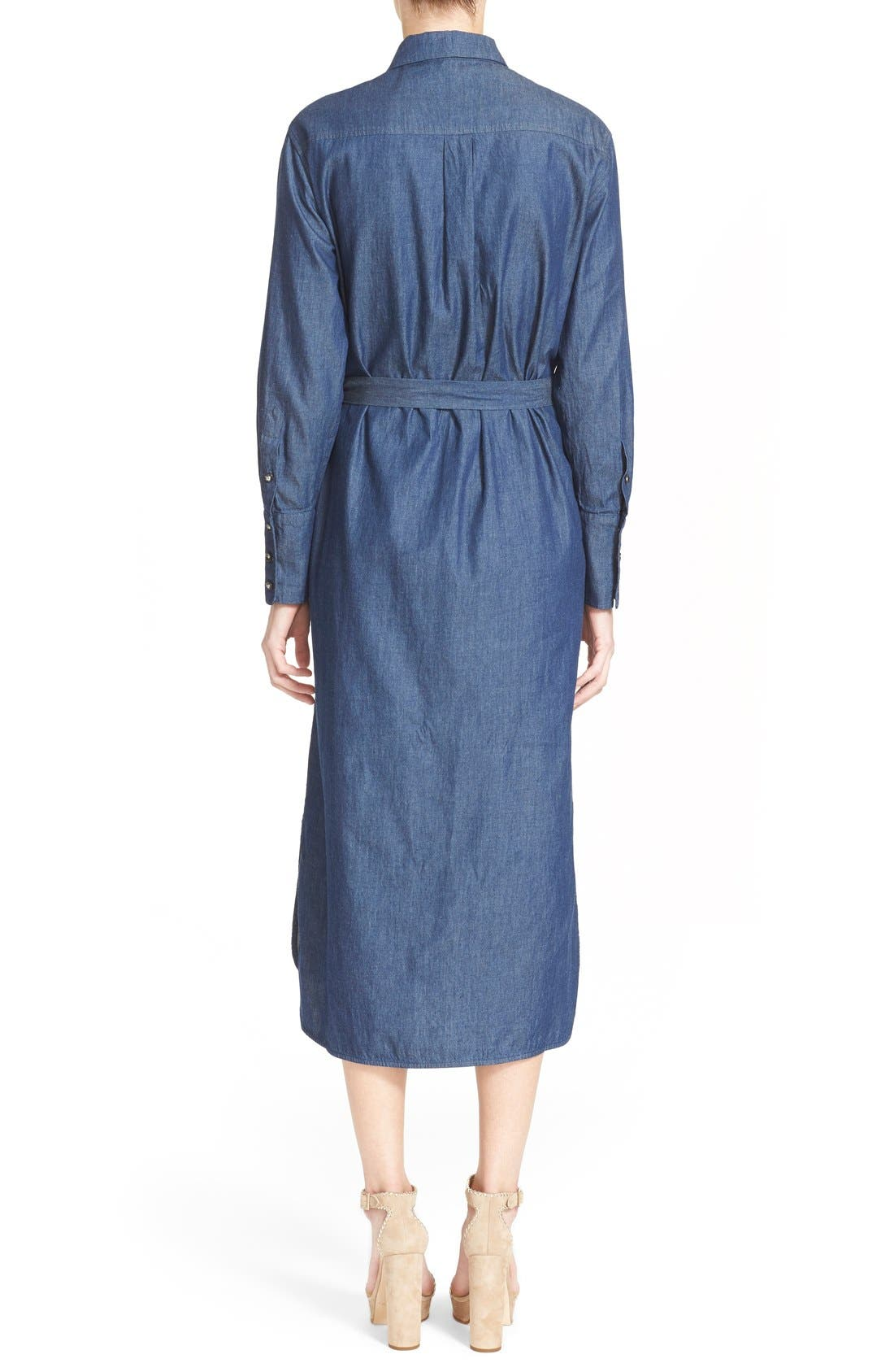 Alternate Image 2  - Equipment 'Delany' Chambray Cotton Shirtdress