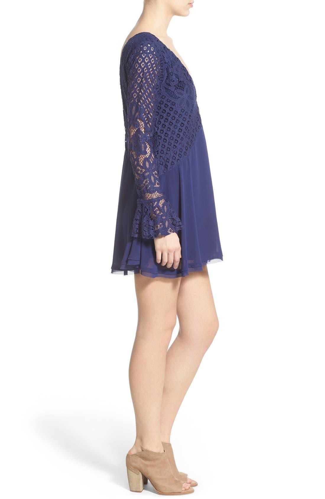 Alternate Image 3  - Tularosa 'Skylar' Bell Sleeve Minidress