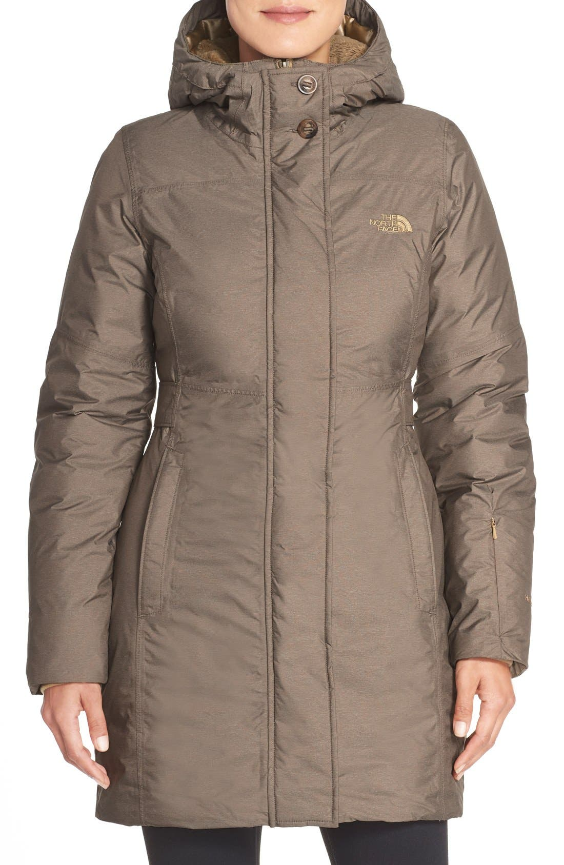The North Face 'Fifth and Pine' Waterproof Down Jacket (Nordstrom ...