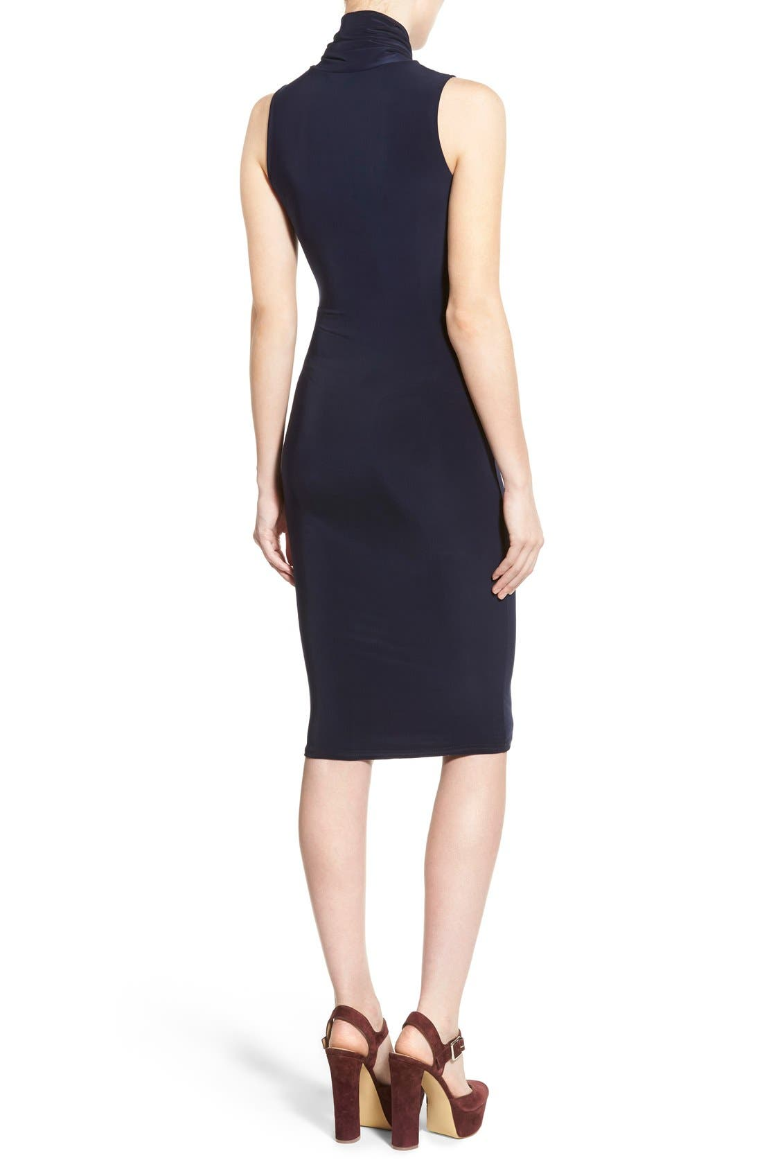 Alternate Image 2  - Missguided Twist Neck Body-Con Dress