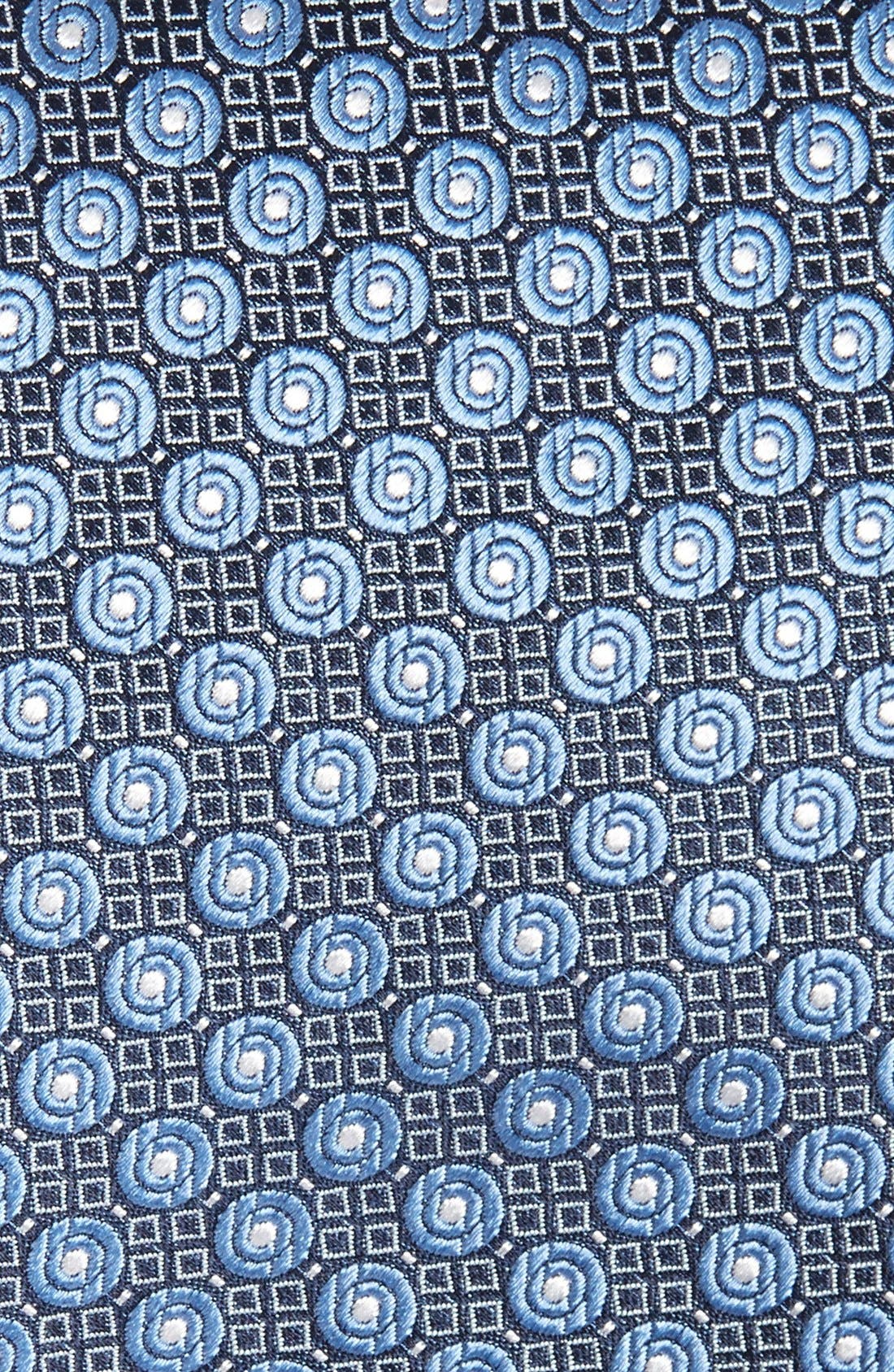 Dot Silk Tie,                             Alternate thumbnail 2, color,                             Blue