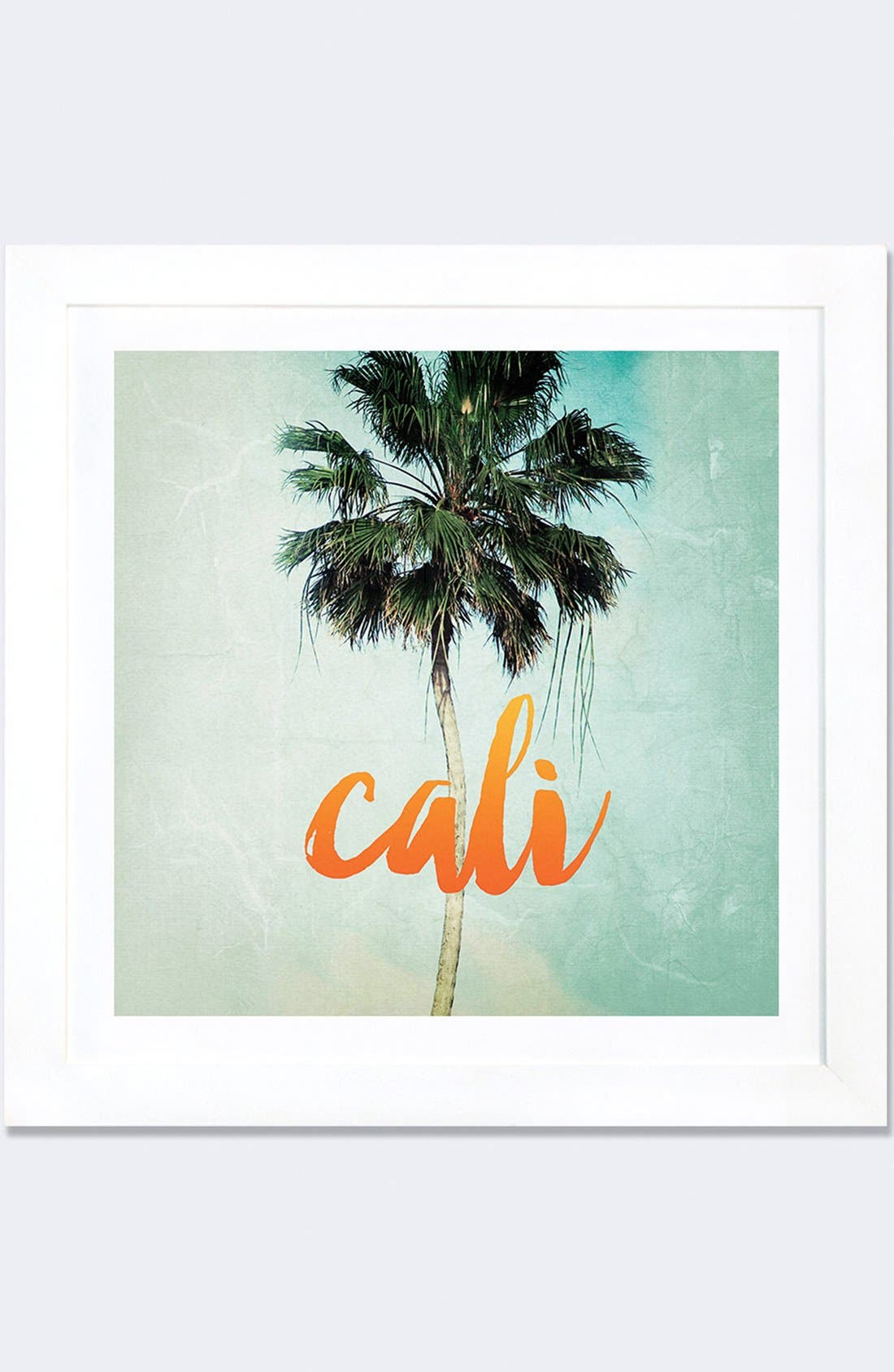 Alternate Image 1 Selected - iCanvas 'California' Framed Fine Art Print