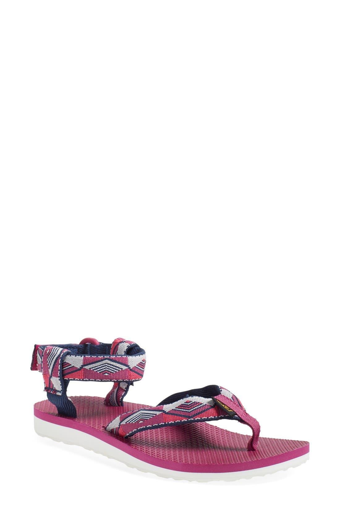Original Sport Sandal,                         Main,                         color, Pyramid Raspberry