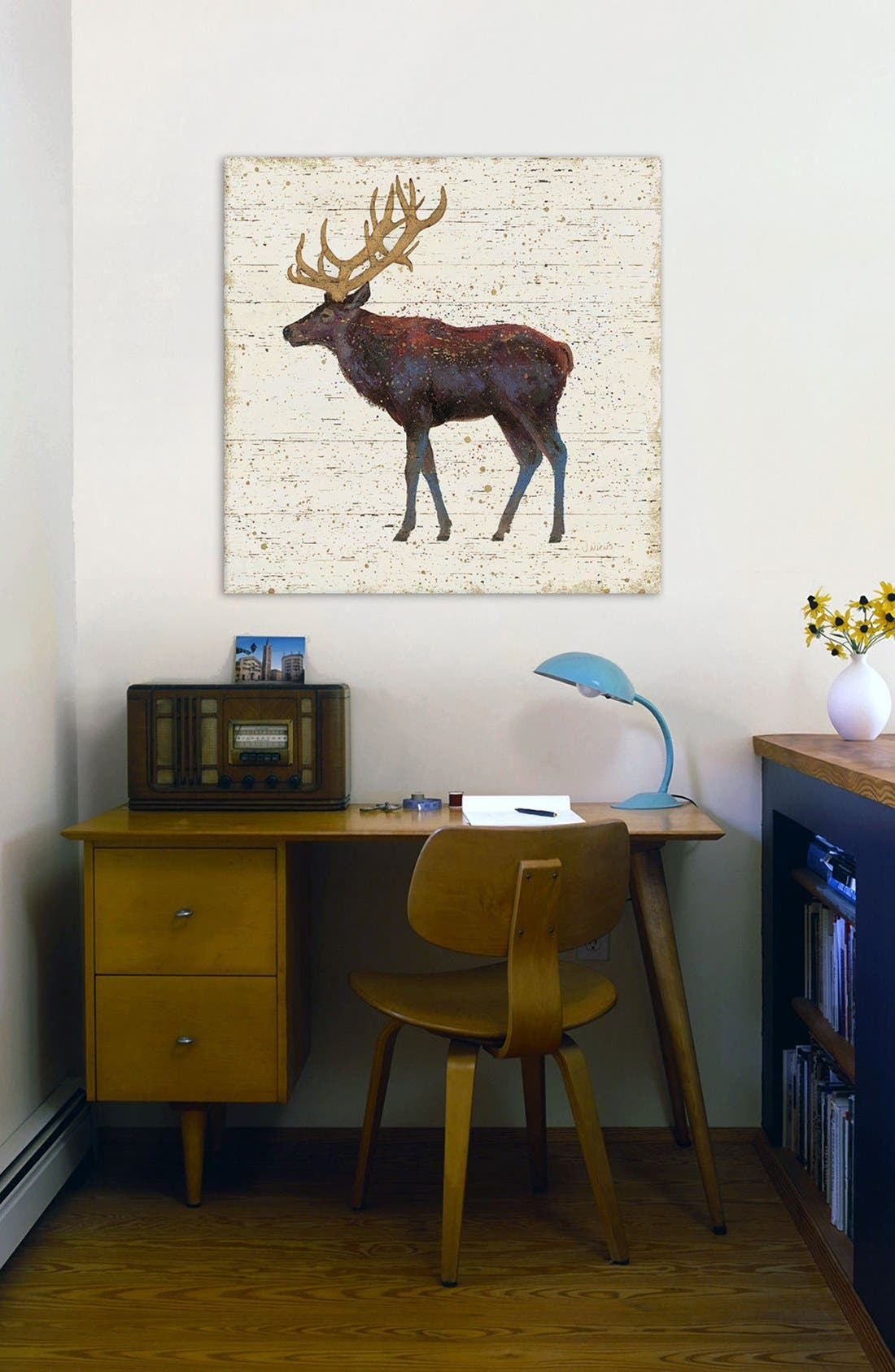 'Golden Nature II' Giclée Print Canvas Art,                             Alternate thumbnail 2, color,                             Brown