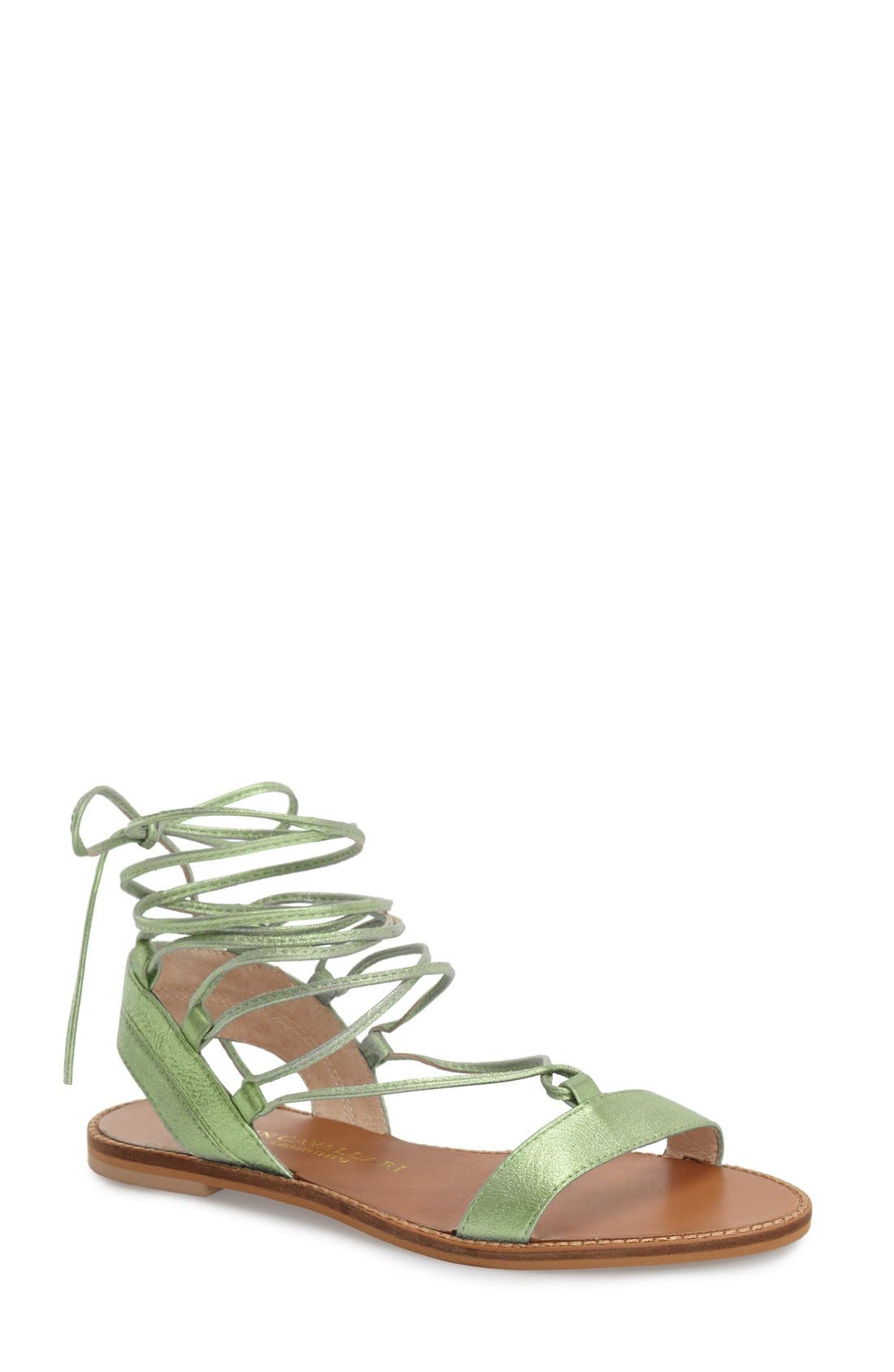 Main Image - Kristin Cavallari 'Belle' Lace-Up Sandal (Women)