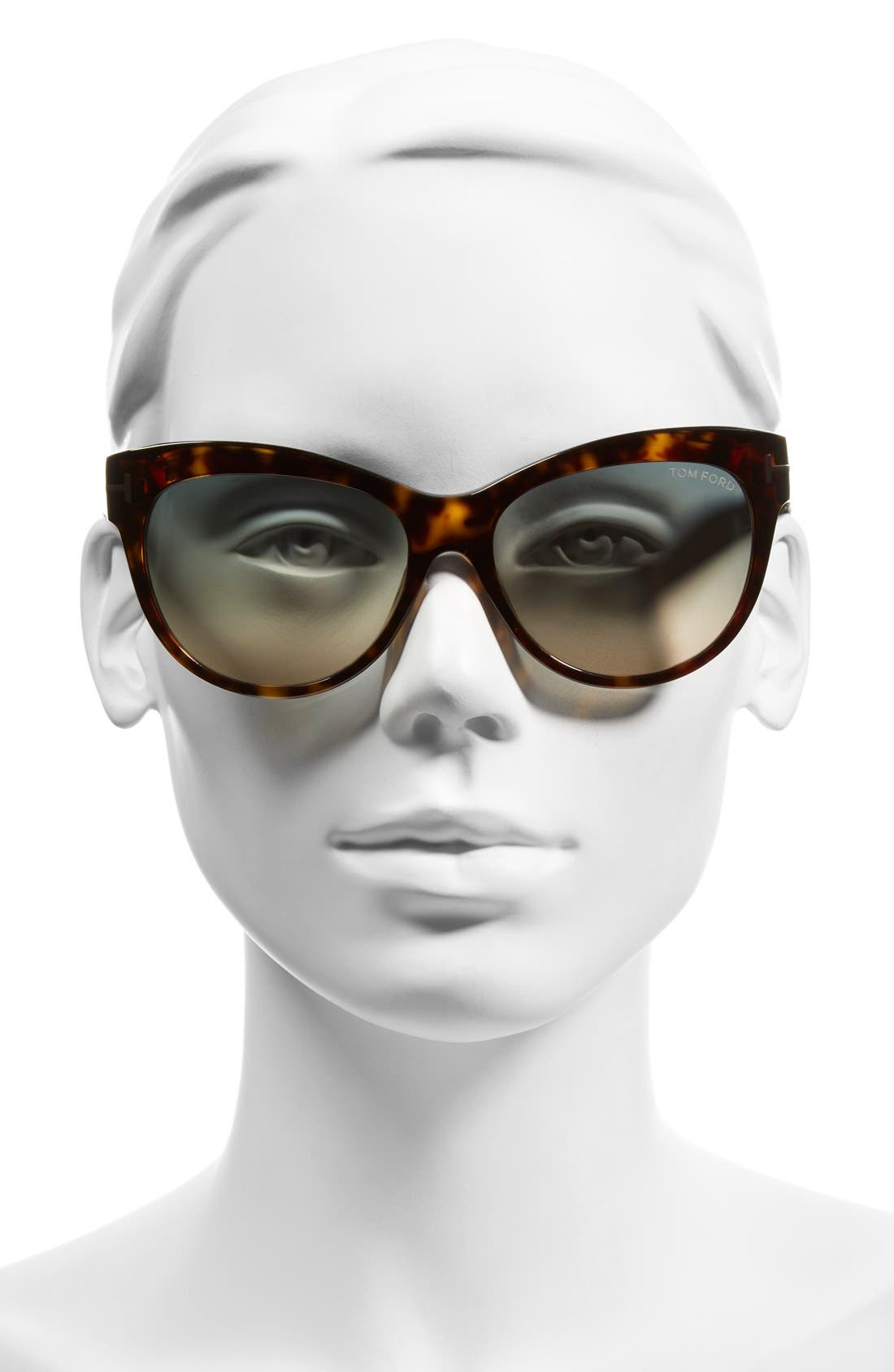 Alternate Image 2  - Tom Ford 'Lily' 56mm Cat Eye Sunglasses