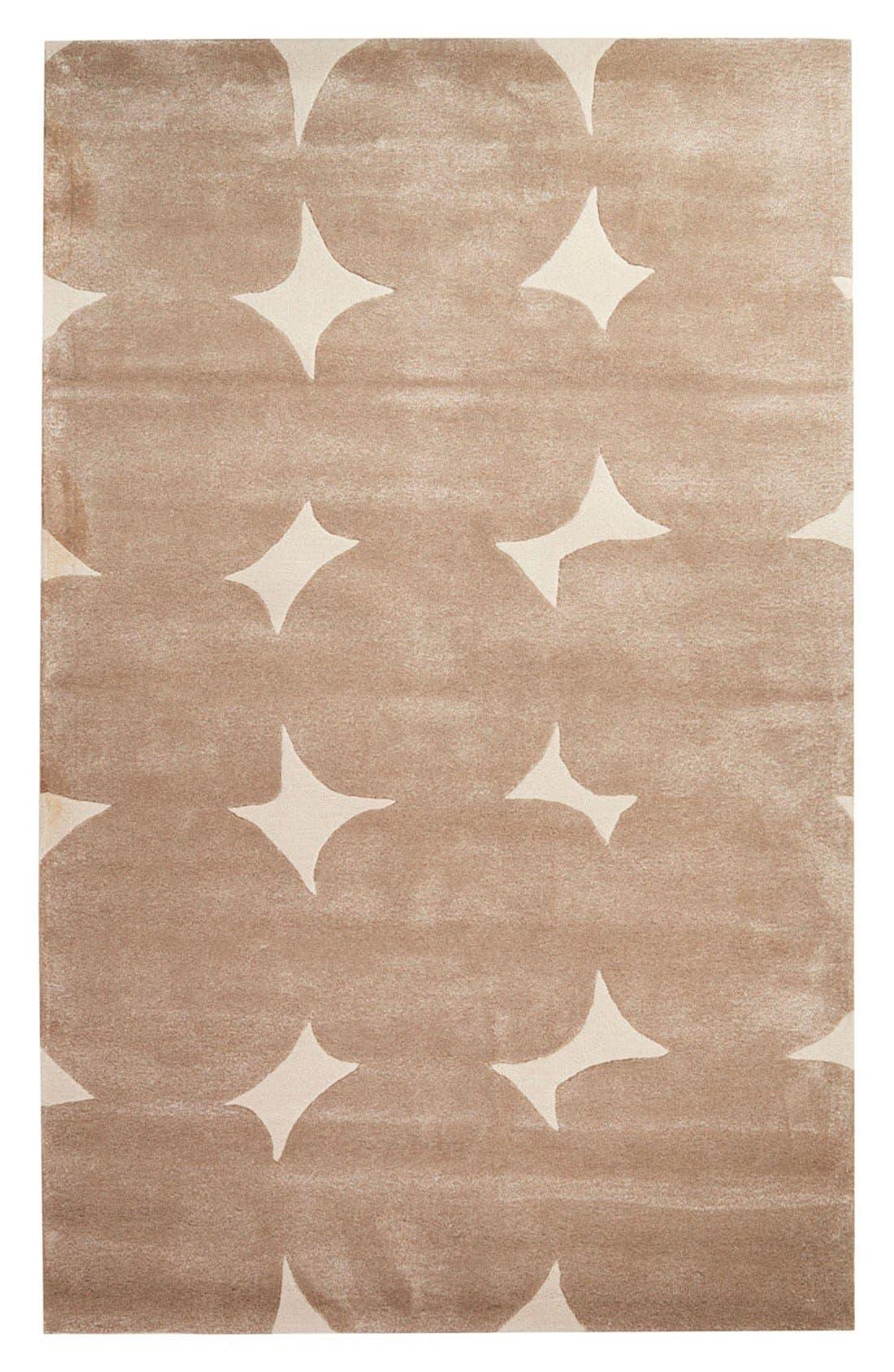 Alternate Image 1 Selected - kate spade new york 'gramercy' dot wool & silk rug